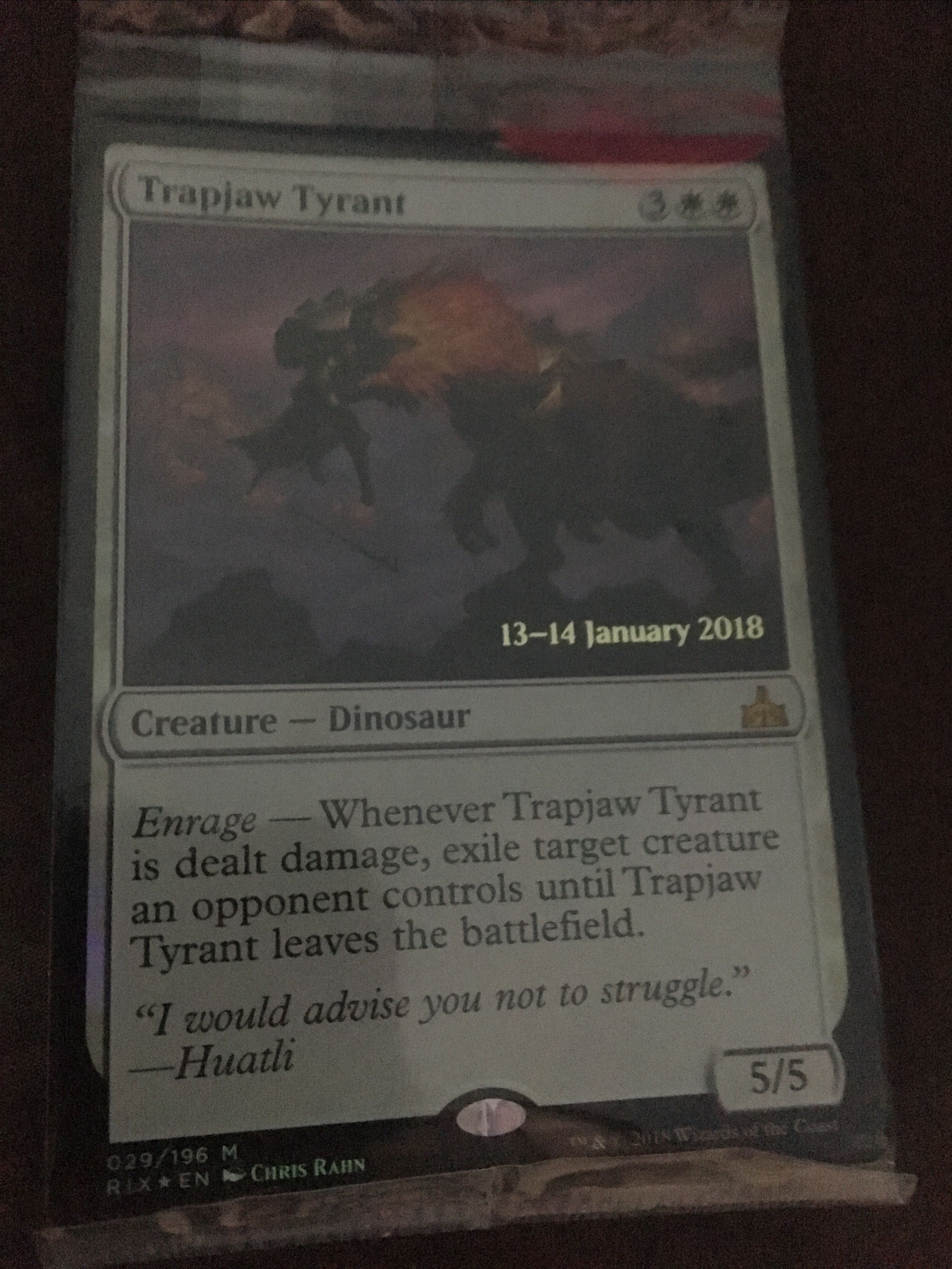 Trapjaw Tyrant Magic: The Gathering, MTG)