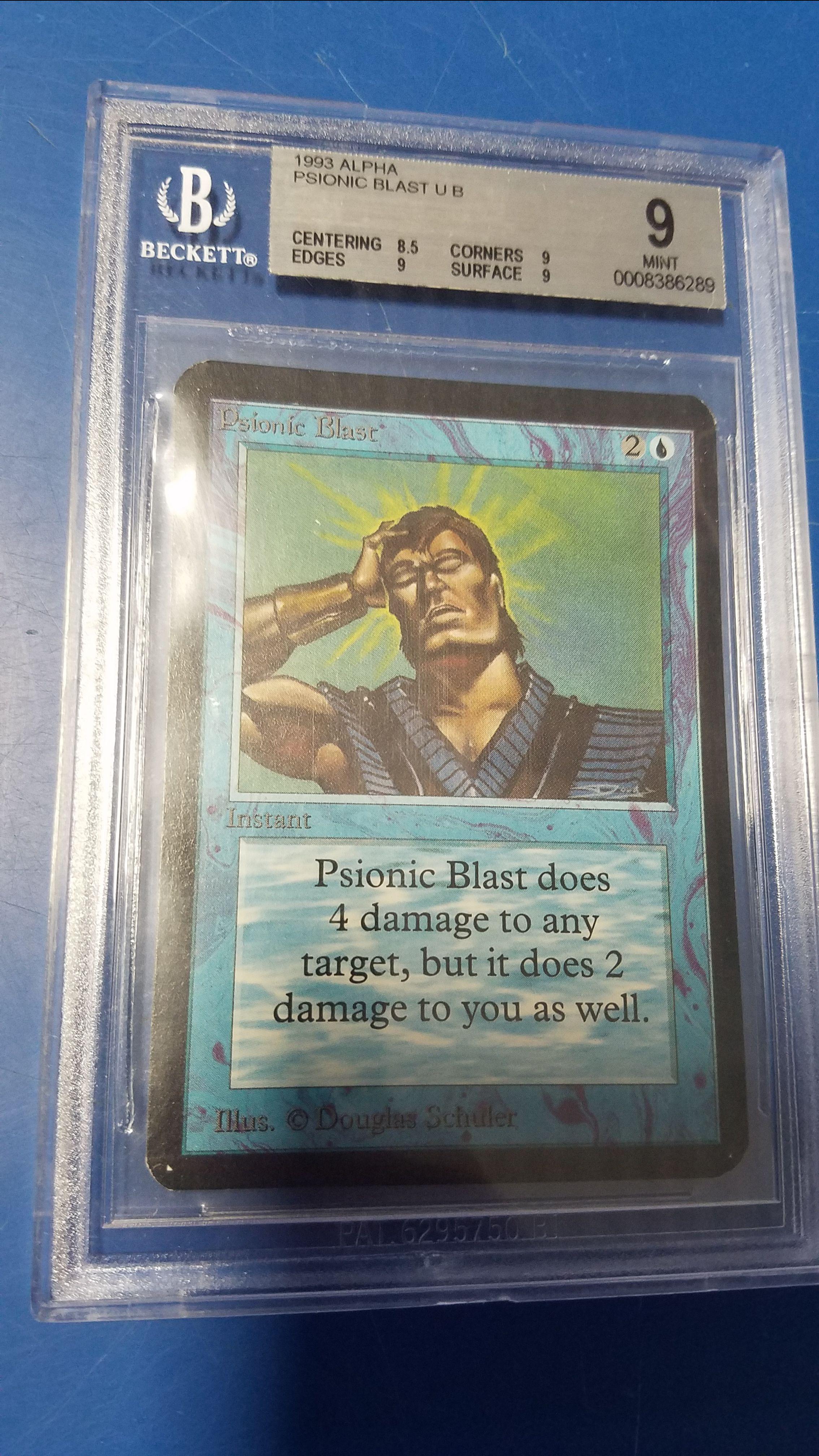 Psionic Blast Alpha Graded 90