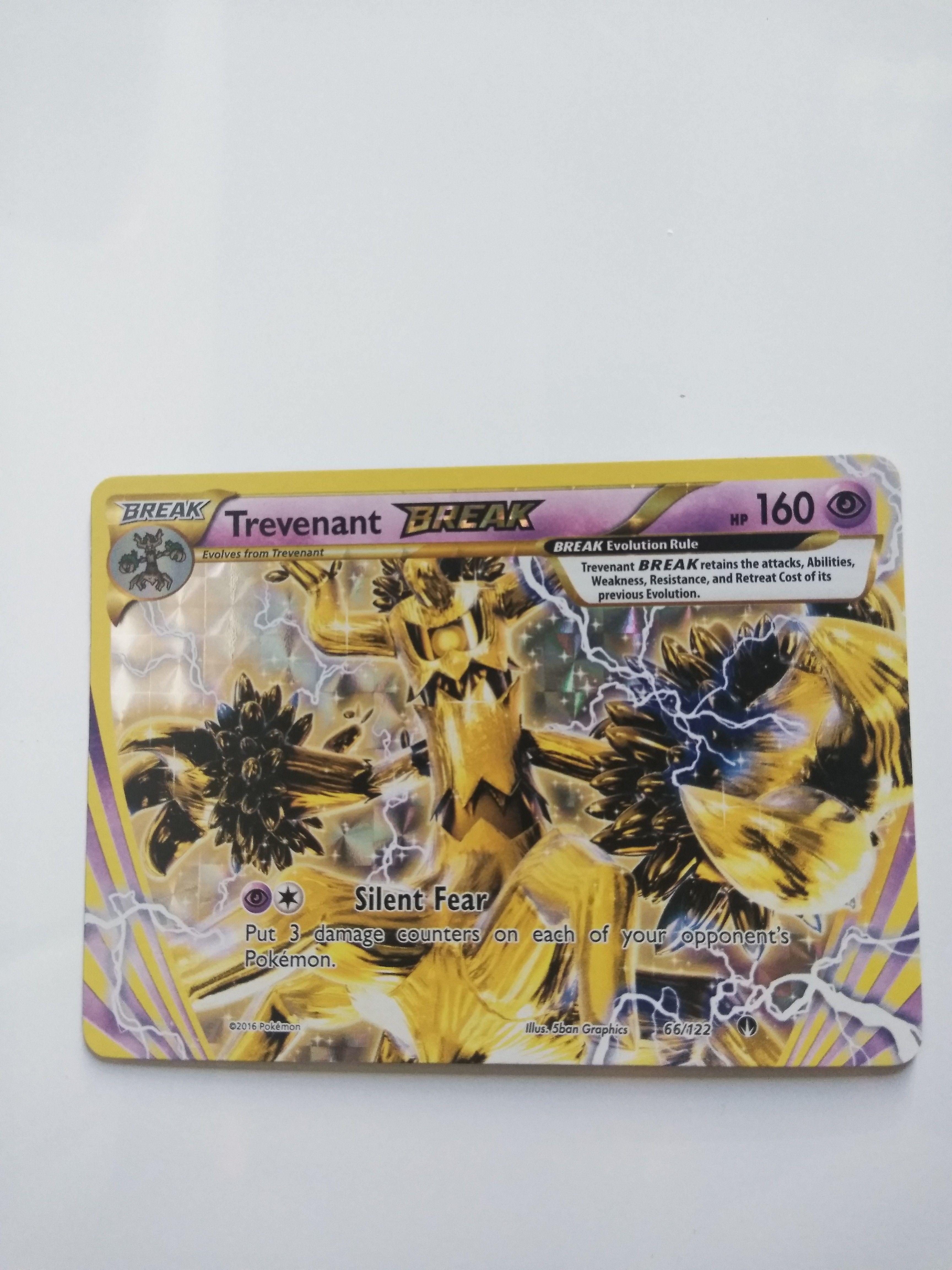 Trevenant-Break 66//122 Rare Break NM Pokemon BREAKPoint