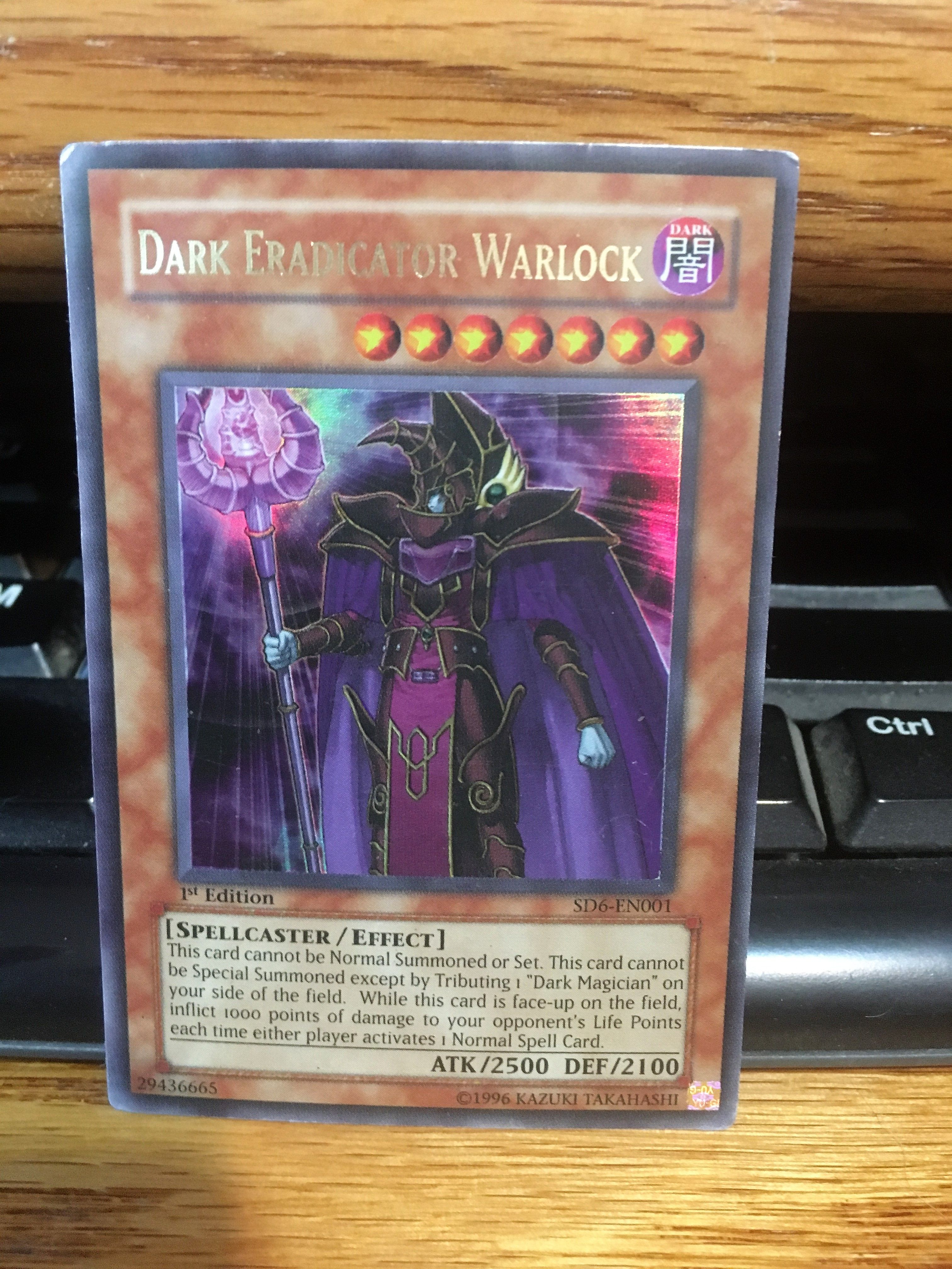 dark eradicator warlock dark eradicator warlock structure deck
