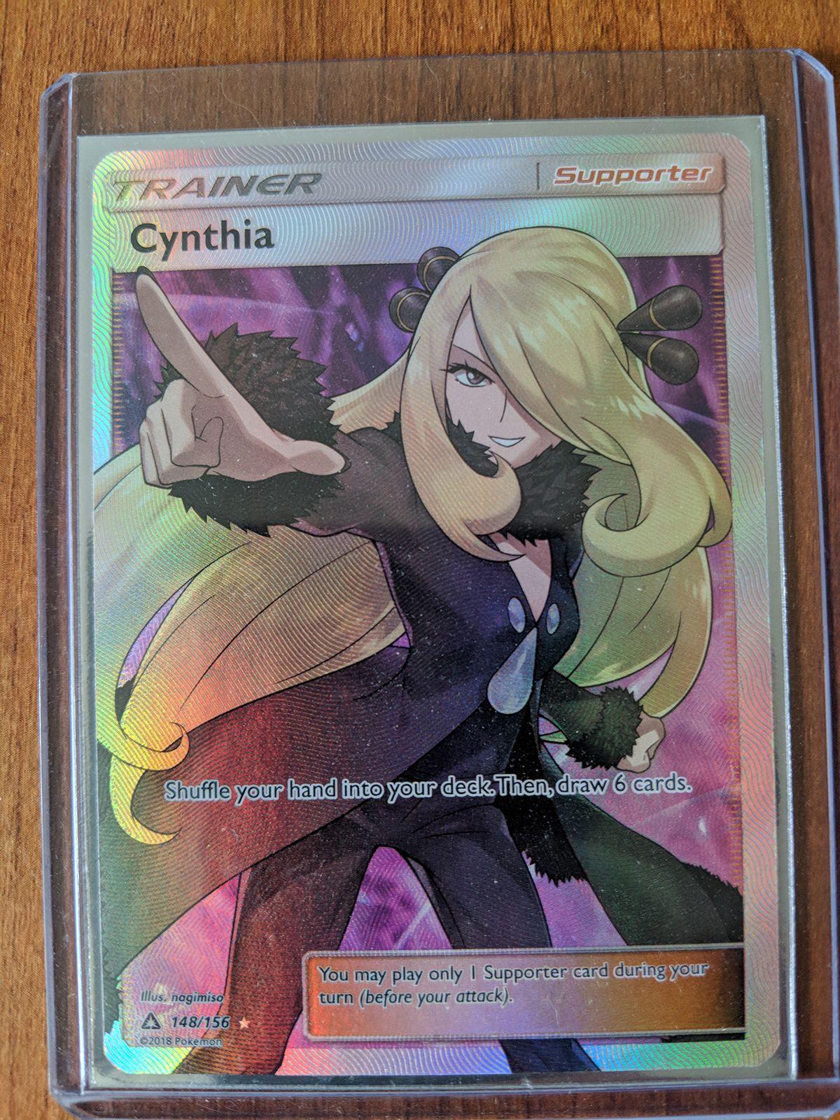 cynthia pokemon tcg - HD1200×1600