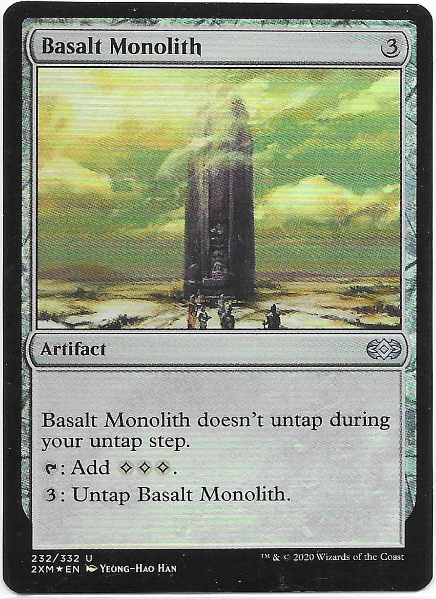 Basalt Monolith ~ Double Masters NearMint Magic MTG
