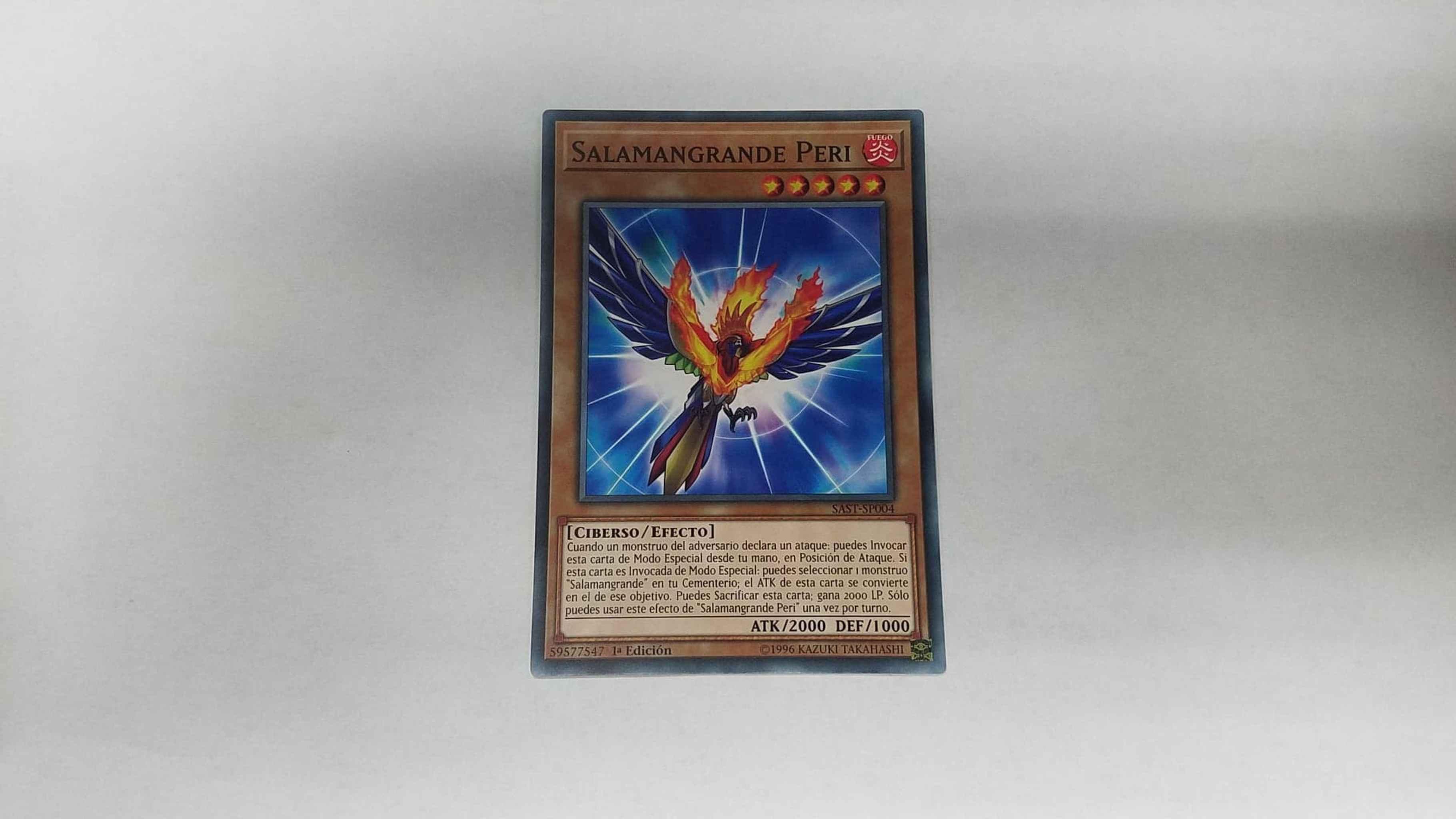 TCG: Salamangreat Parro Yu-Gi-Oh SAST-EN004 Unlimited Edition Common Card