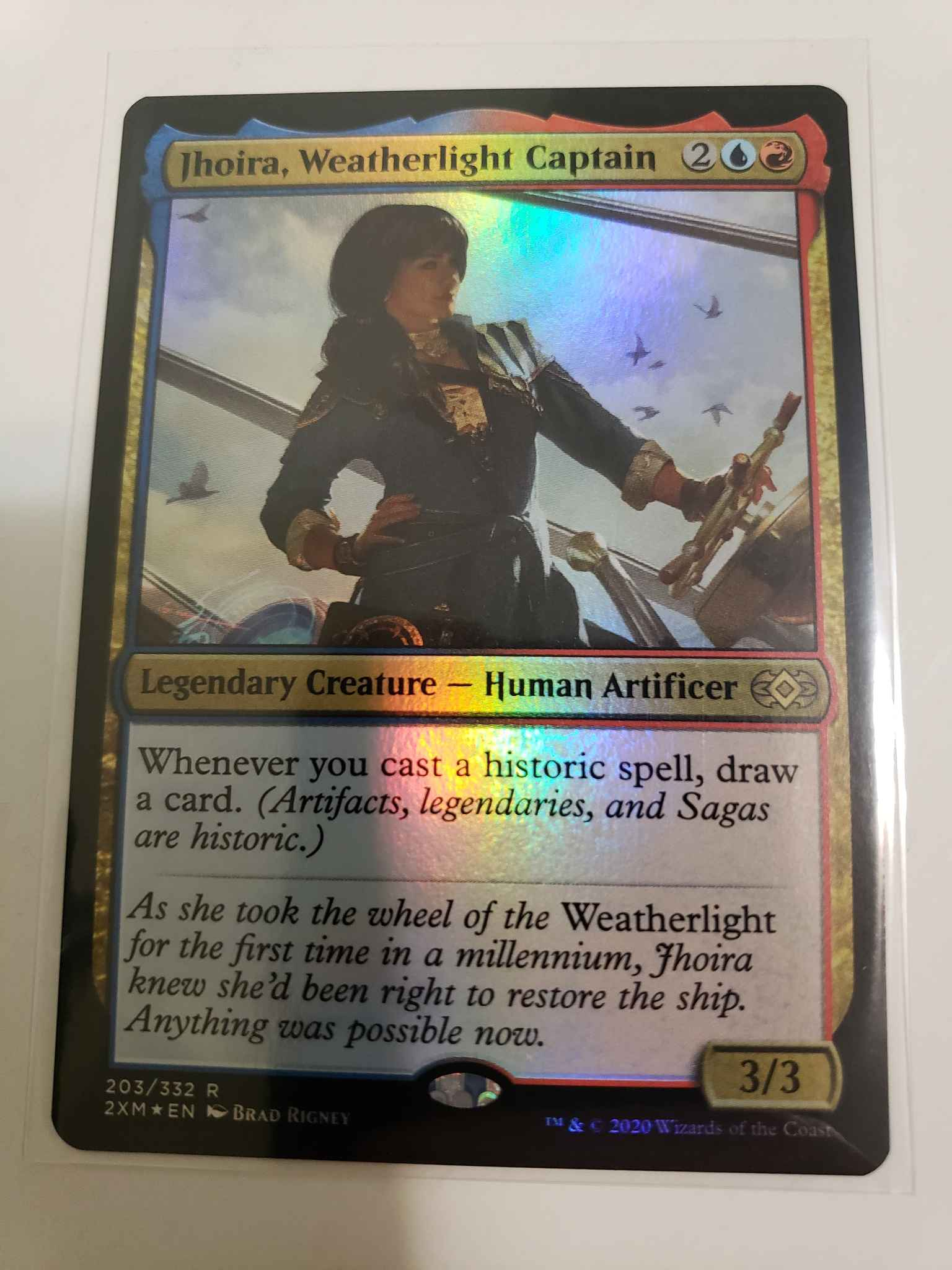 Double Masters Weatherlight Captain Jhoira