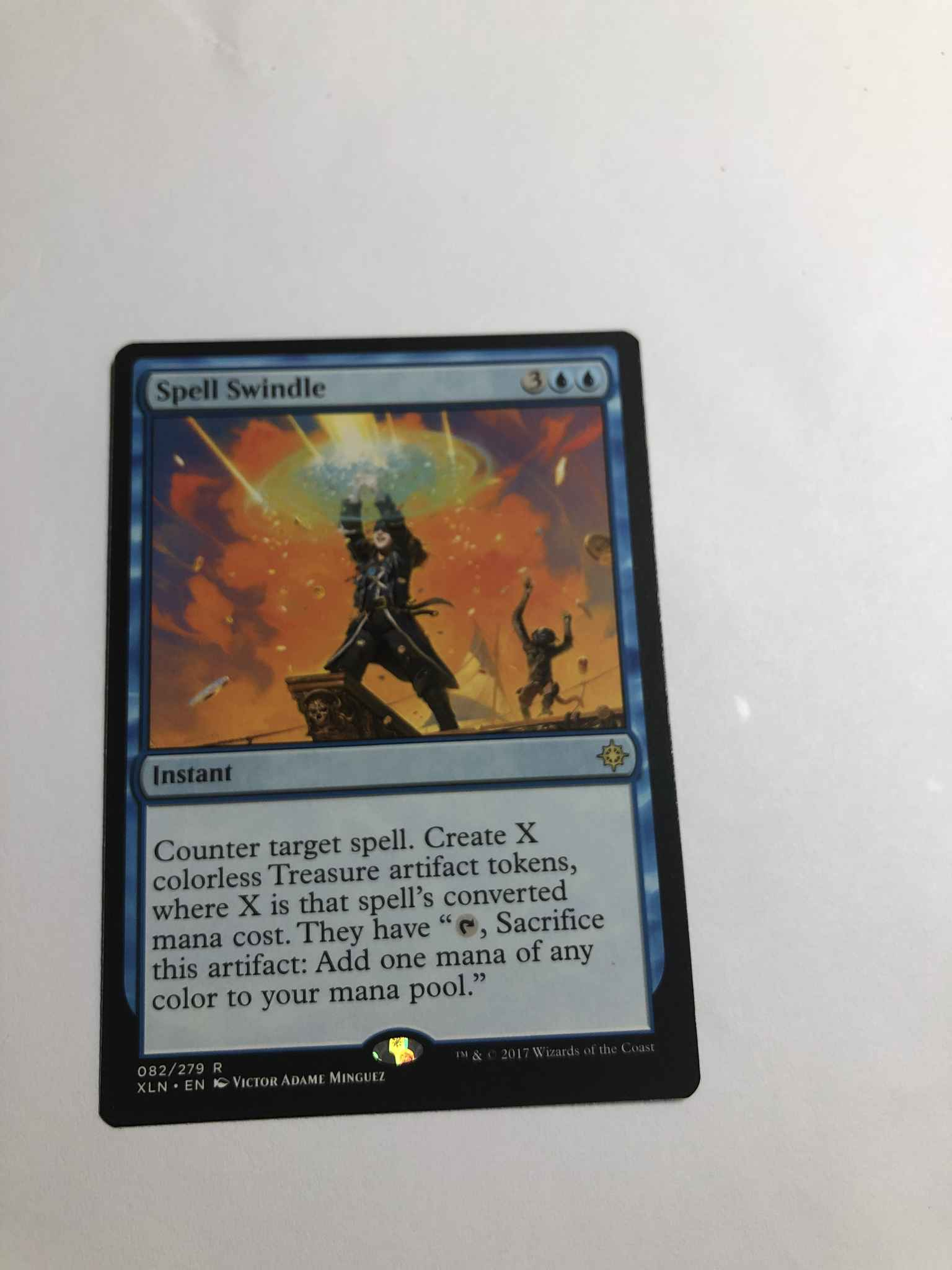 Spell Swindle Near Mint Normal English Magic Card Ixalan MTG TCG
