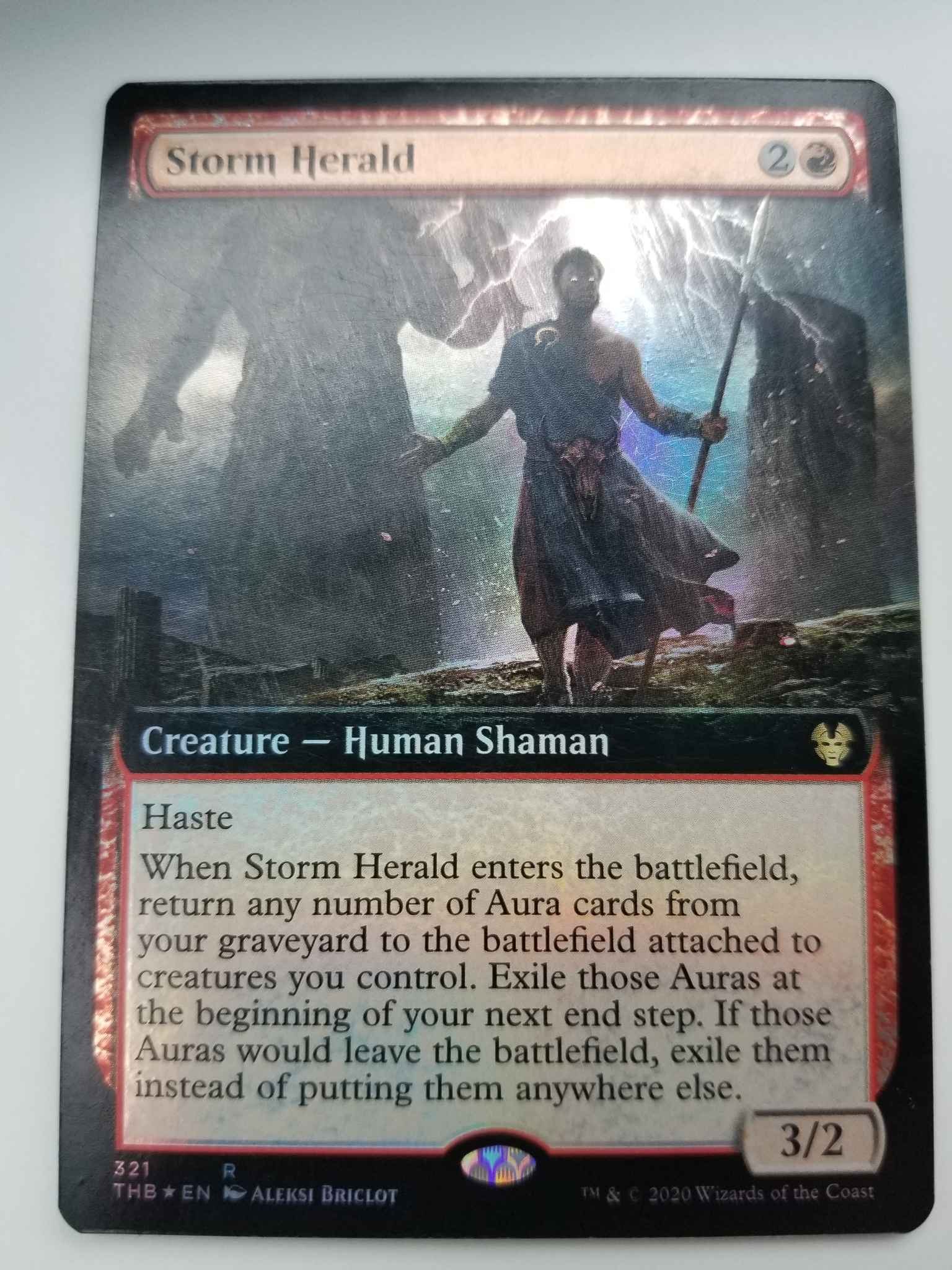 Storm Herald x4 Magic THEROS BEYOND DEATH 4 cards MTG Mint