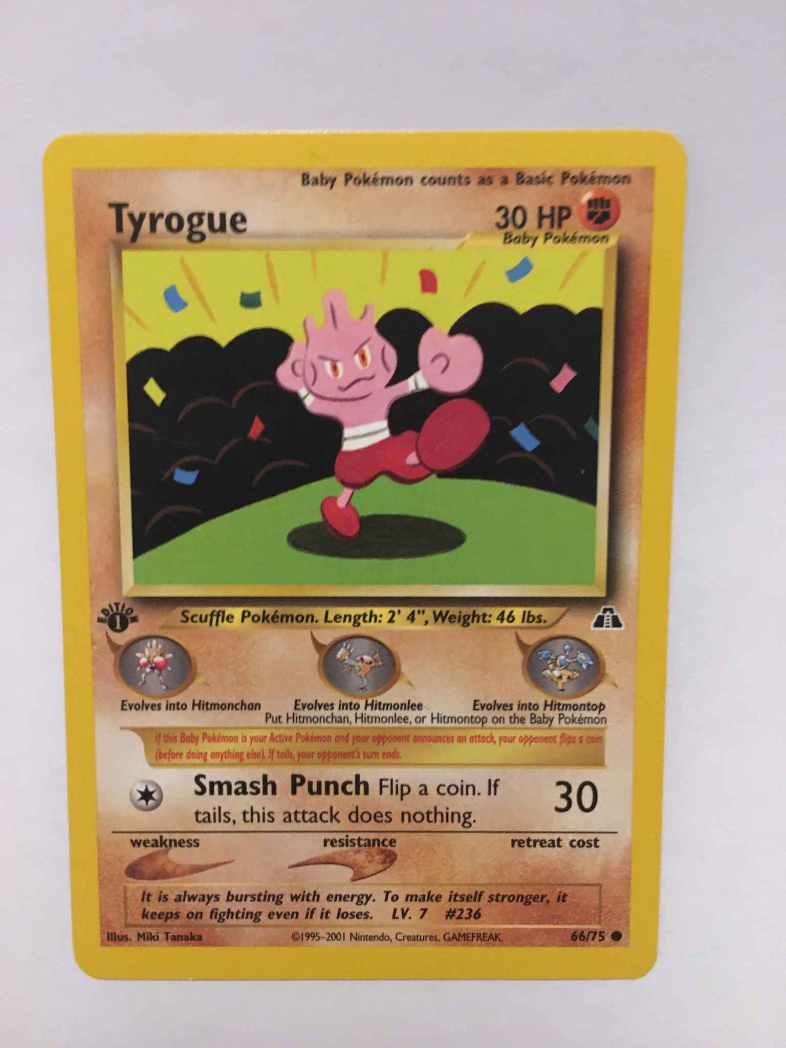 Pokemon Neo Discovery Cards Make your selection