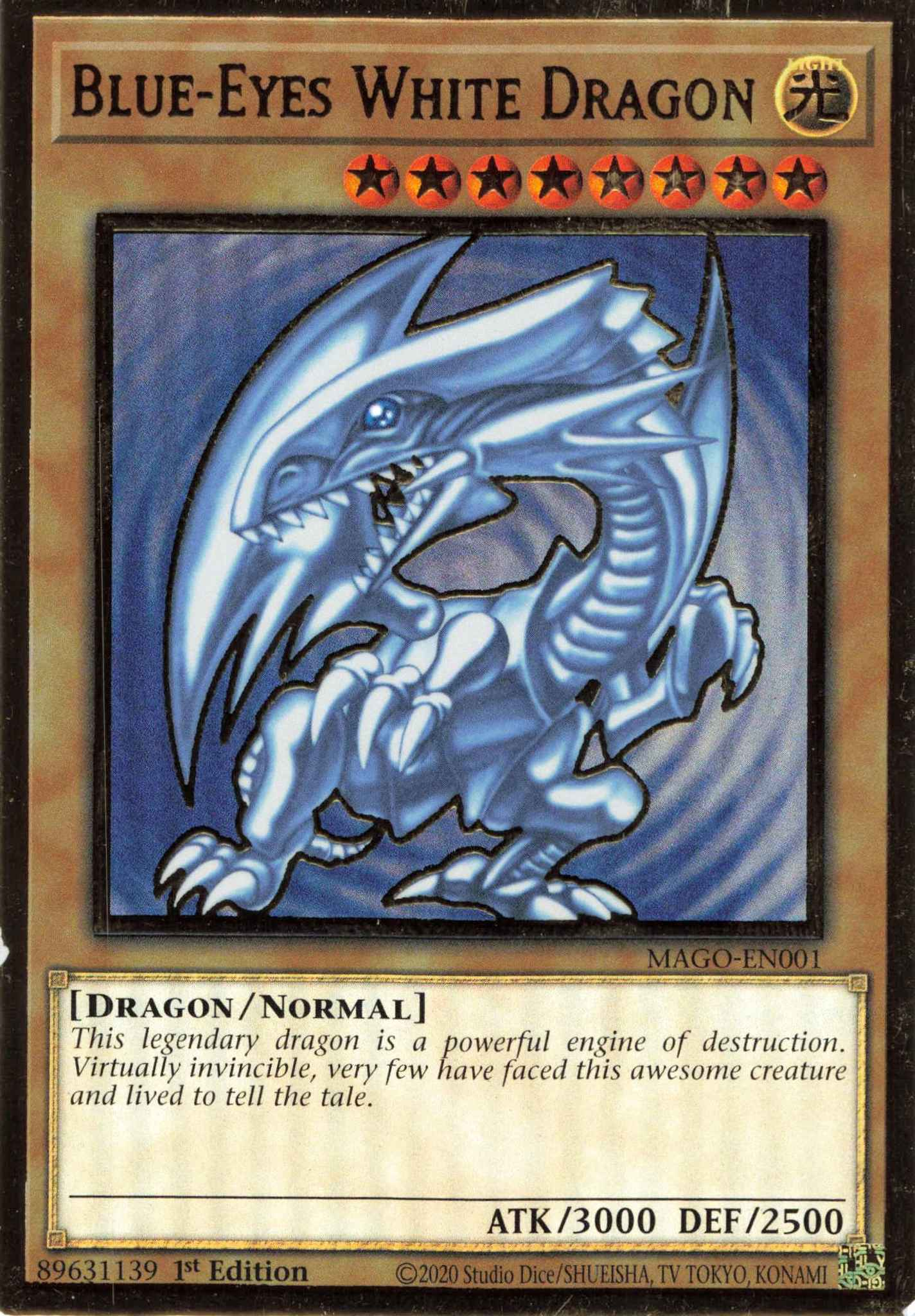 Maximum Gold Blue Eyes White Dragon Maximum Gold Yugioh Online Gaming Store For Cards Miniatures Singles Packs Booster Boxes Yugioh blue eyes white dragon card value