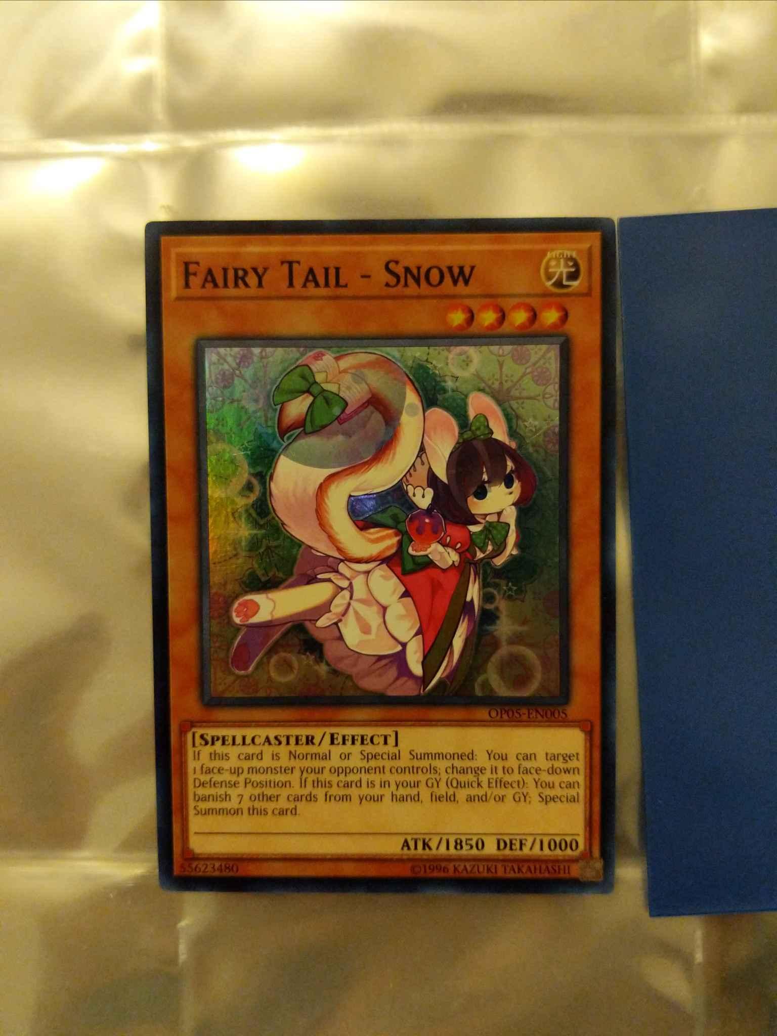 OTS Tournament Pack 5 OP05-EN005 Snow Fairy Tail