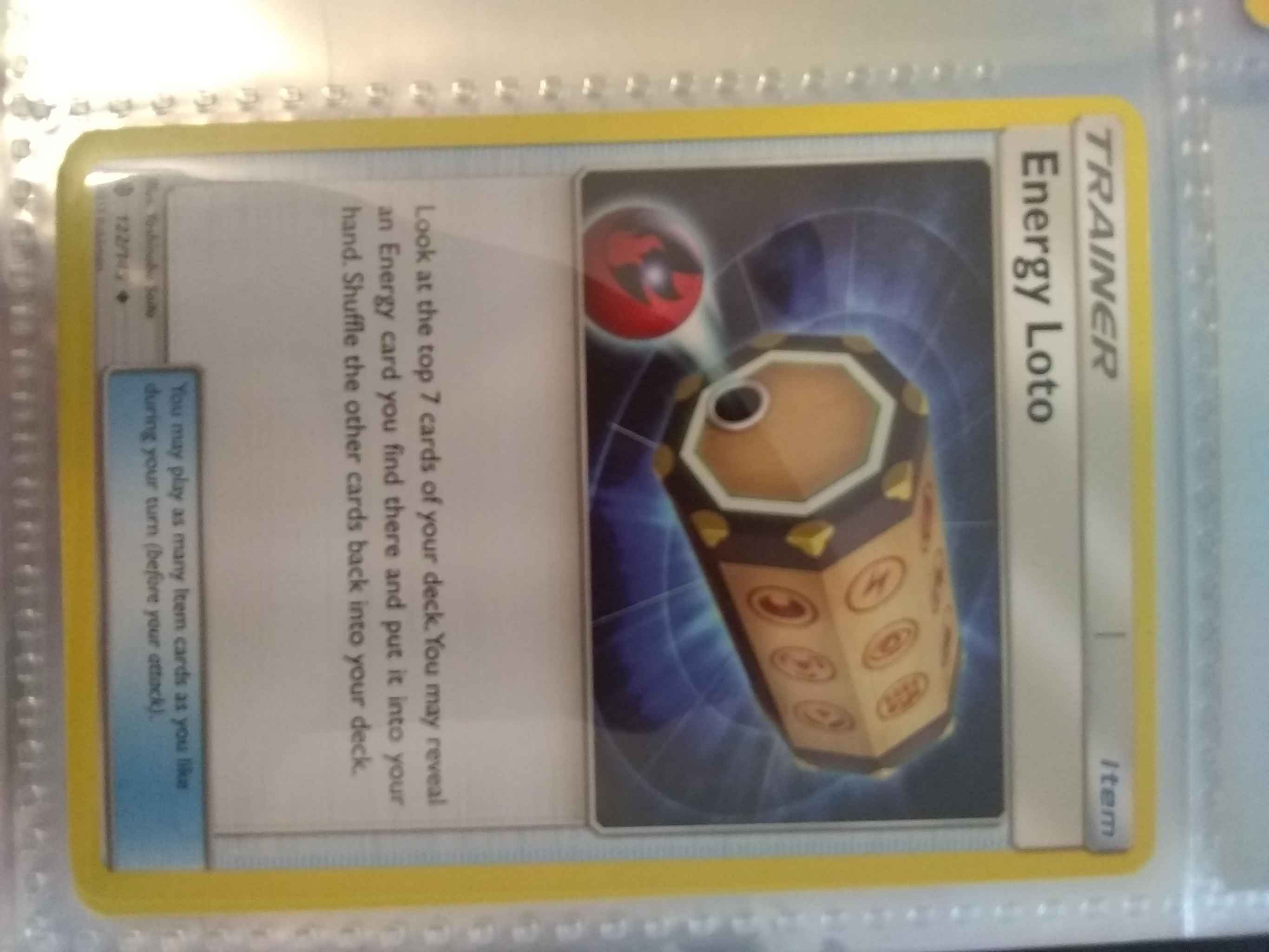 Trainer - Uncommon Energy Loto Guardians Rising 122//145