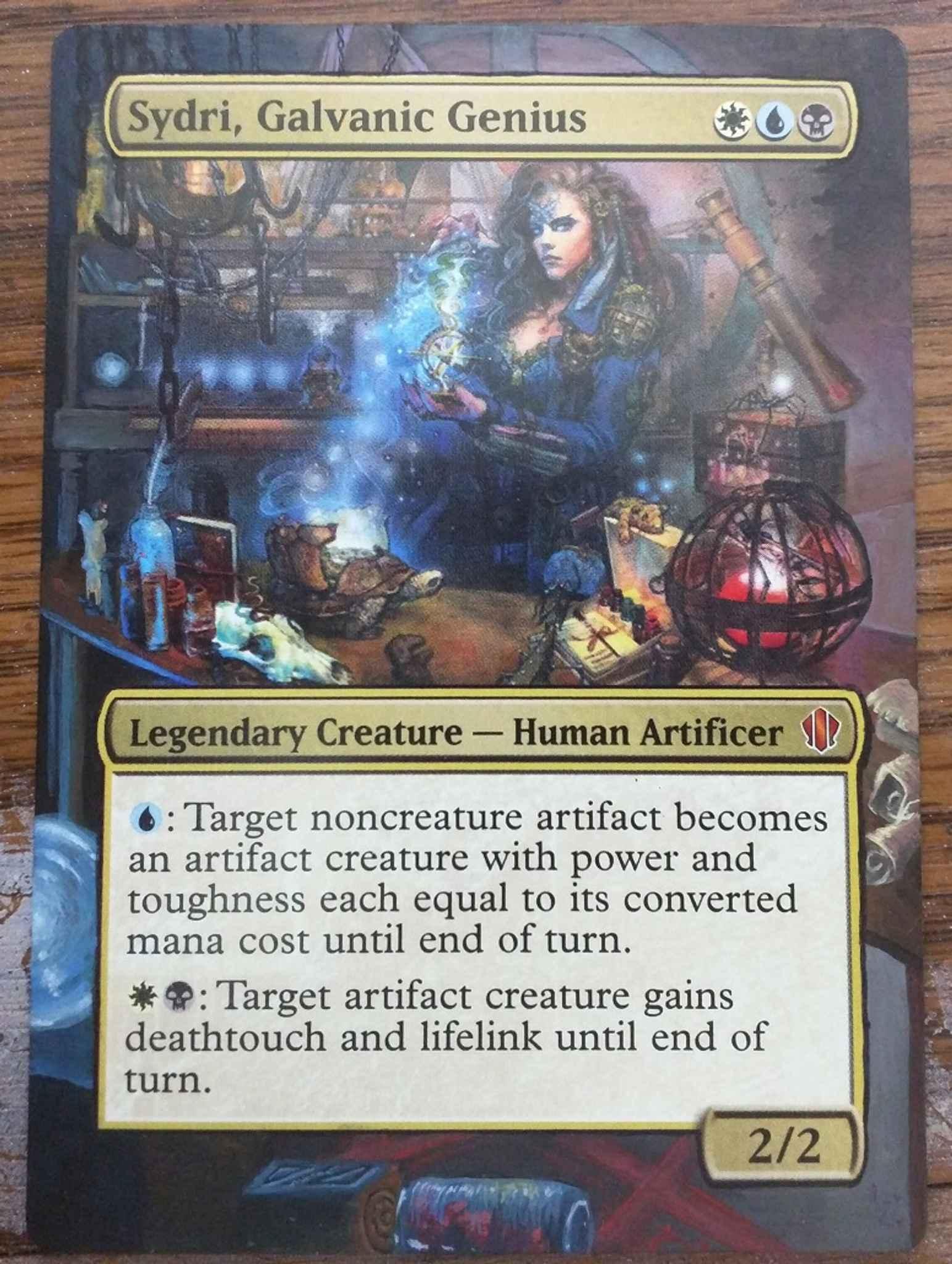 Sydri Galvanic Genius //// Commander 2013 //// MTG Magic the Gathering