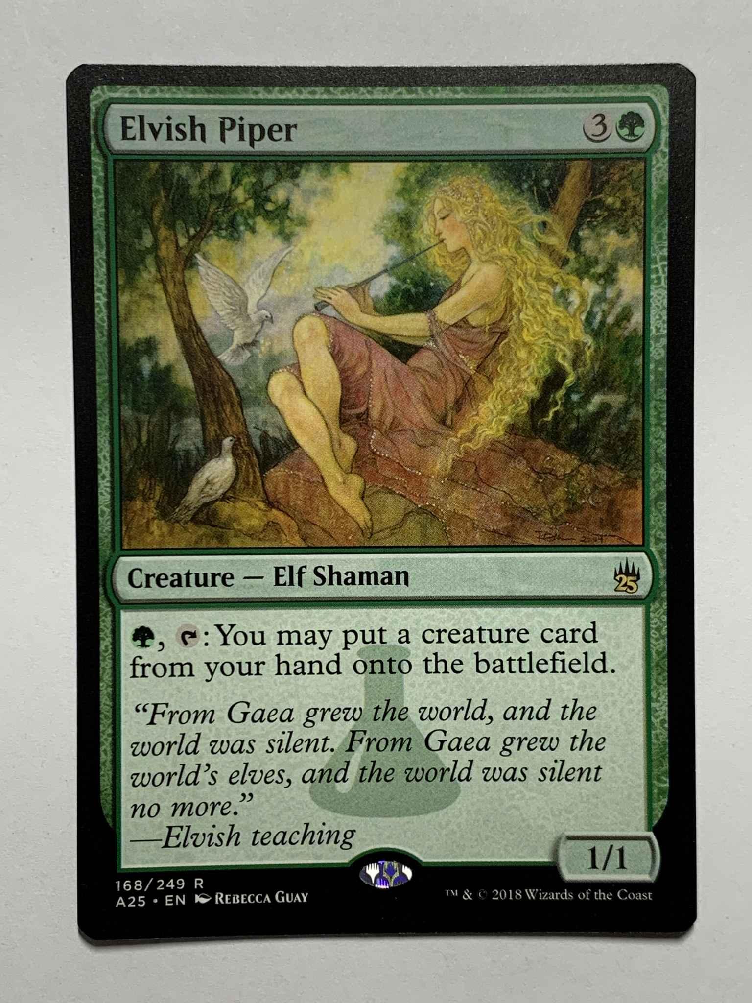Elvish Piper ~ Masters 25 Magic MTG NearMint