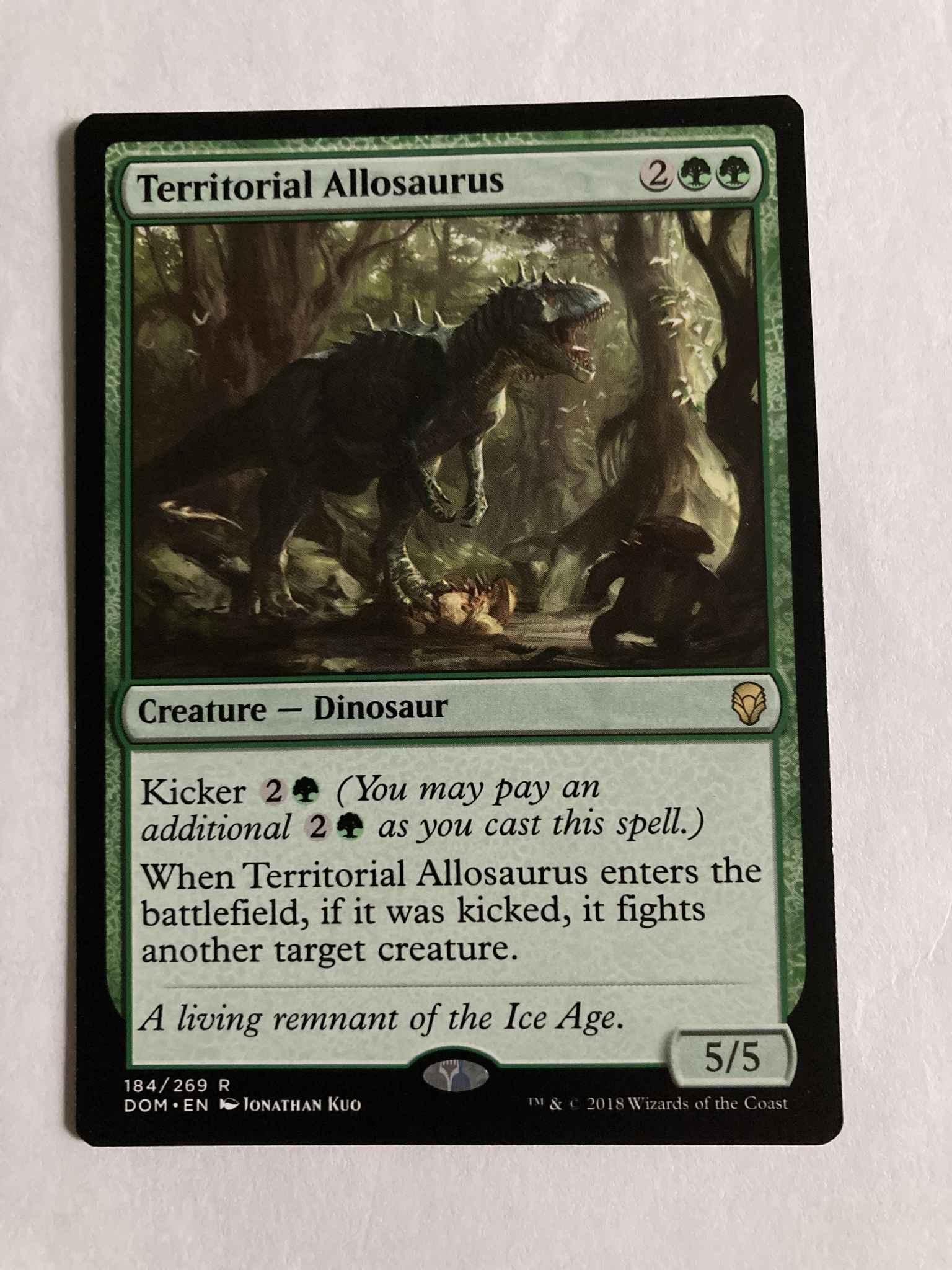 Dominaria Territorial Allosaurus