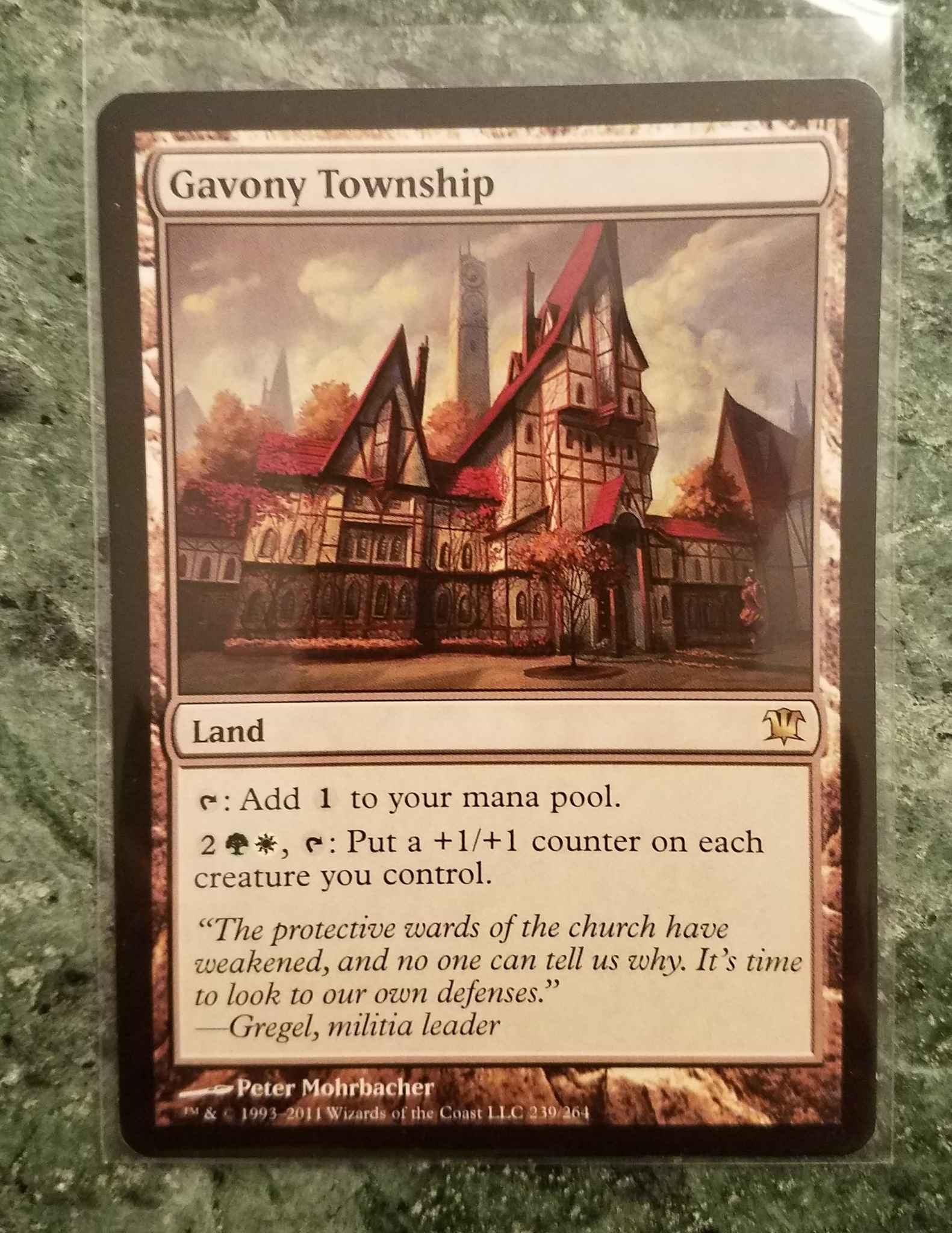 *** GAVONY TOWNSHIP *** MTG Magic //// NM //// Innistrad +1+1 ON EACH CREATURE