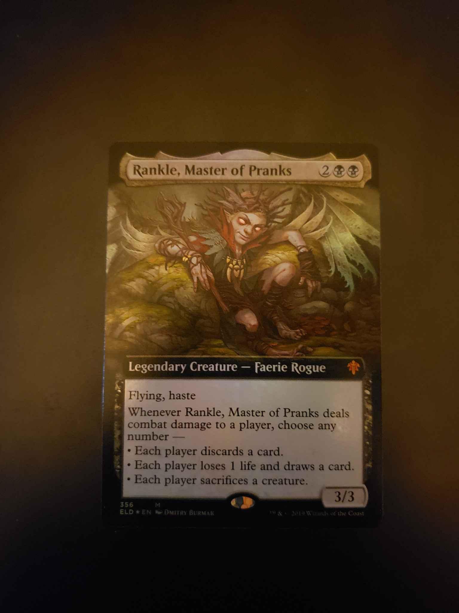 Master of Pranks Rankle