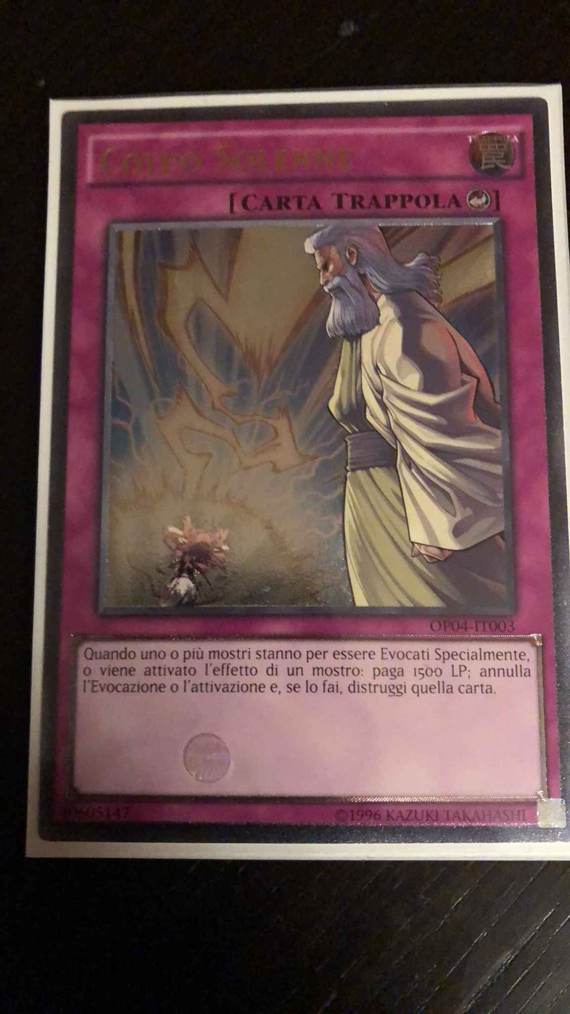 Yu-Gi-Oh NEAR MINT SOLEMN STRIKE OP04-EN003 ULTIMATE RARE