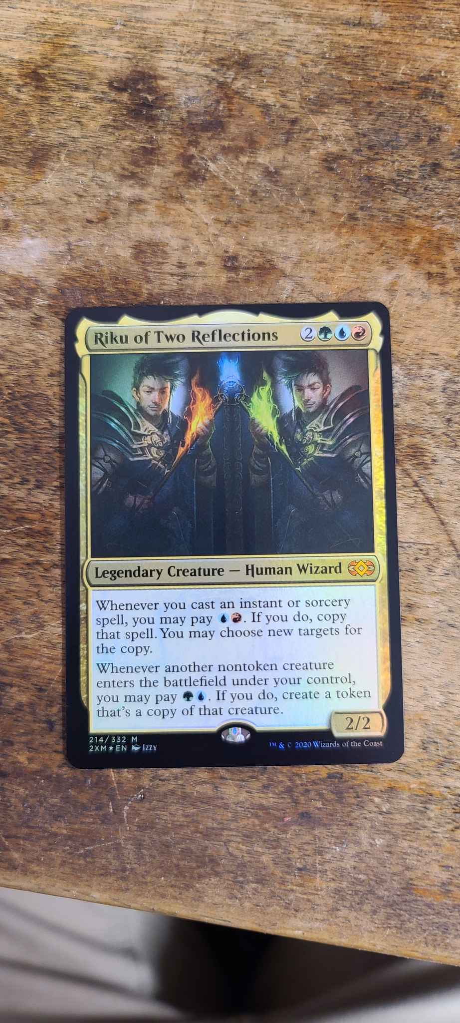 Double Masters 4RCards Riku of Two Reflections X1