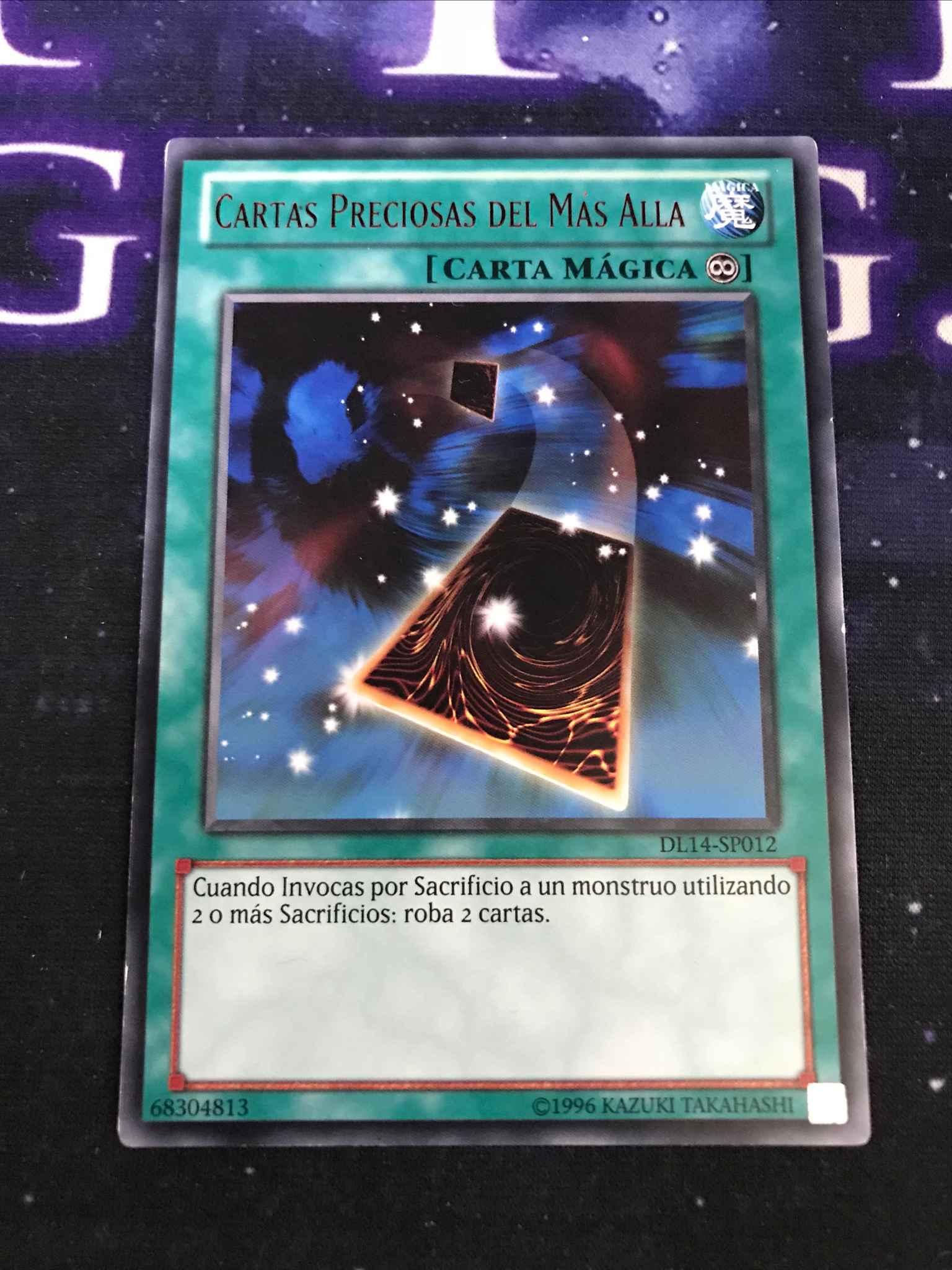 RARA Precious Cards From Beyond DL14-SP012 YU-GI-OH CARTAS PRECIOSAS MAS ALLÁ