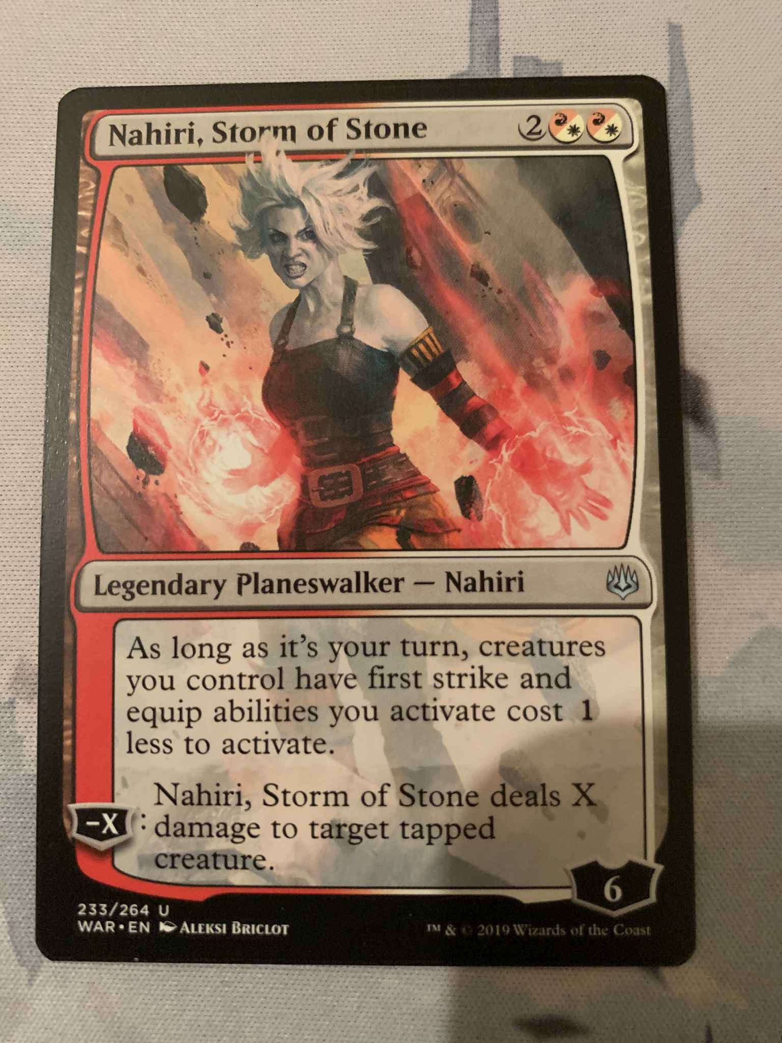 Nahiri Storm Of Stone Nahiri Storm Of Stone War Of The Spark Magic The Gathering Online Gaming Store For Cards Miniatures Singles Packs Booster Boxes