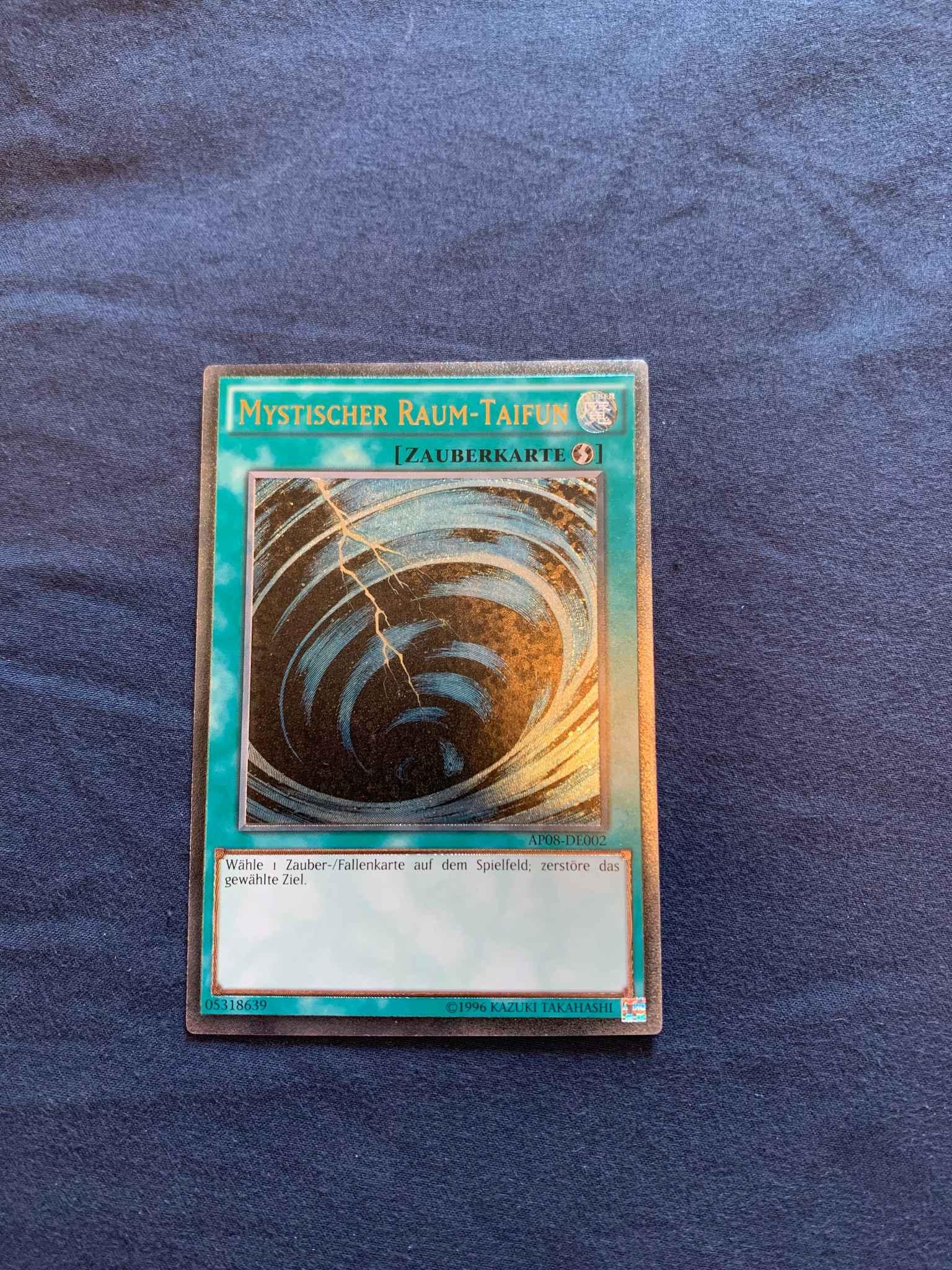 Mystical Space Typhoon AP08-EN002 Ultimate Rare NM Yugioh Card