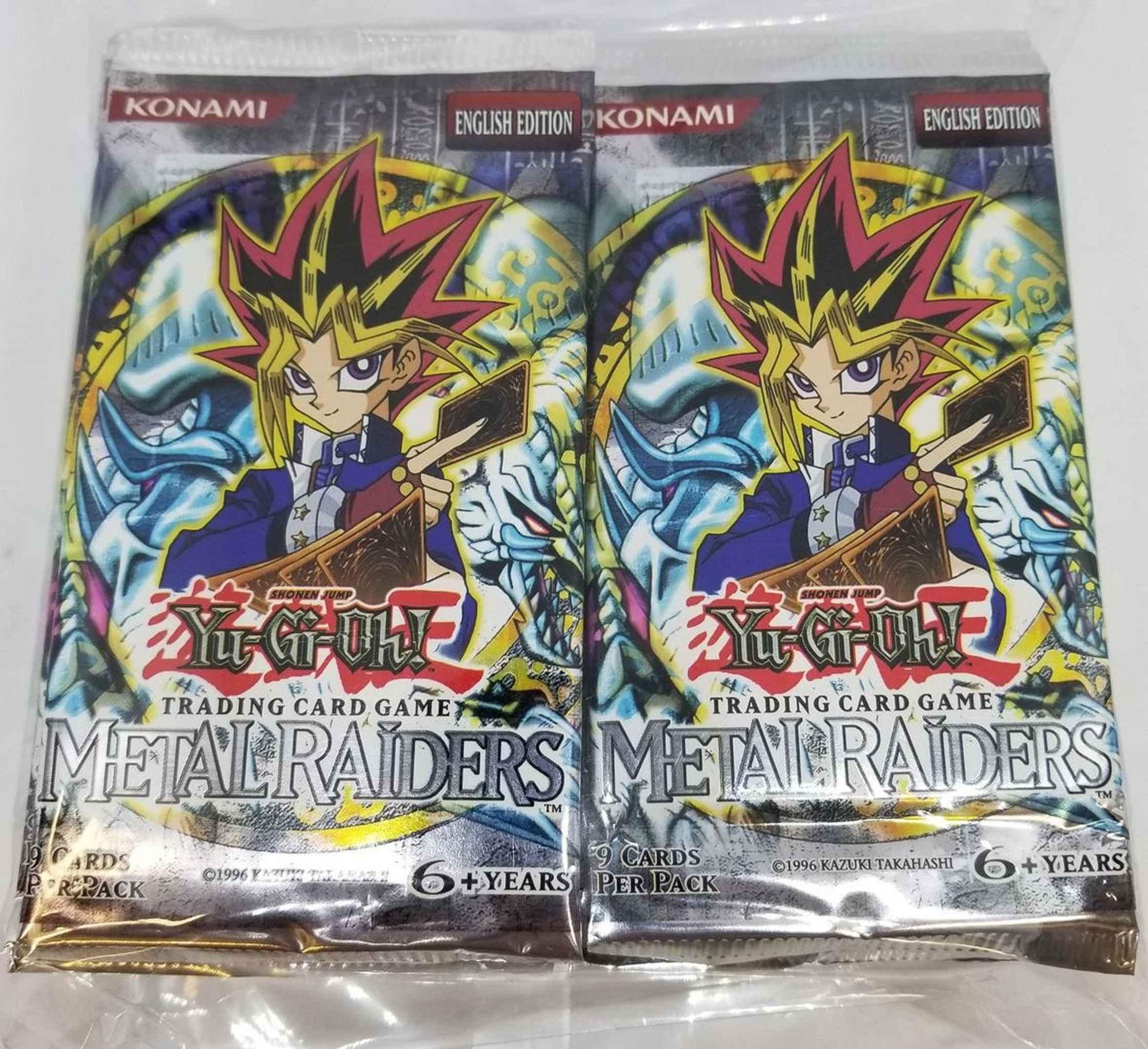 Yugioh Metal Raiders Booster Pack Factory Sealed TCG Dark Magician