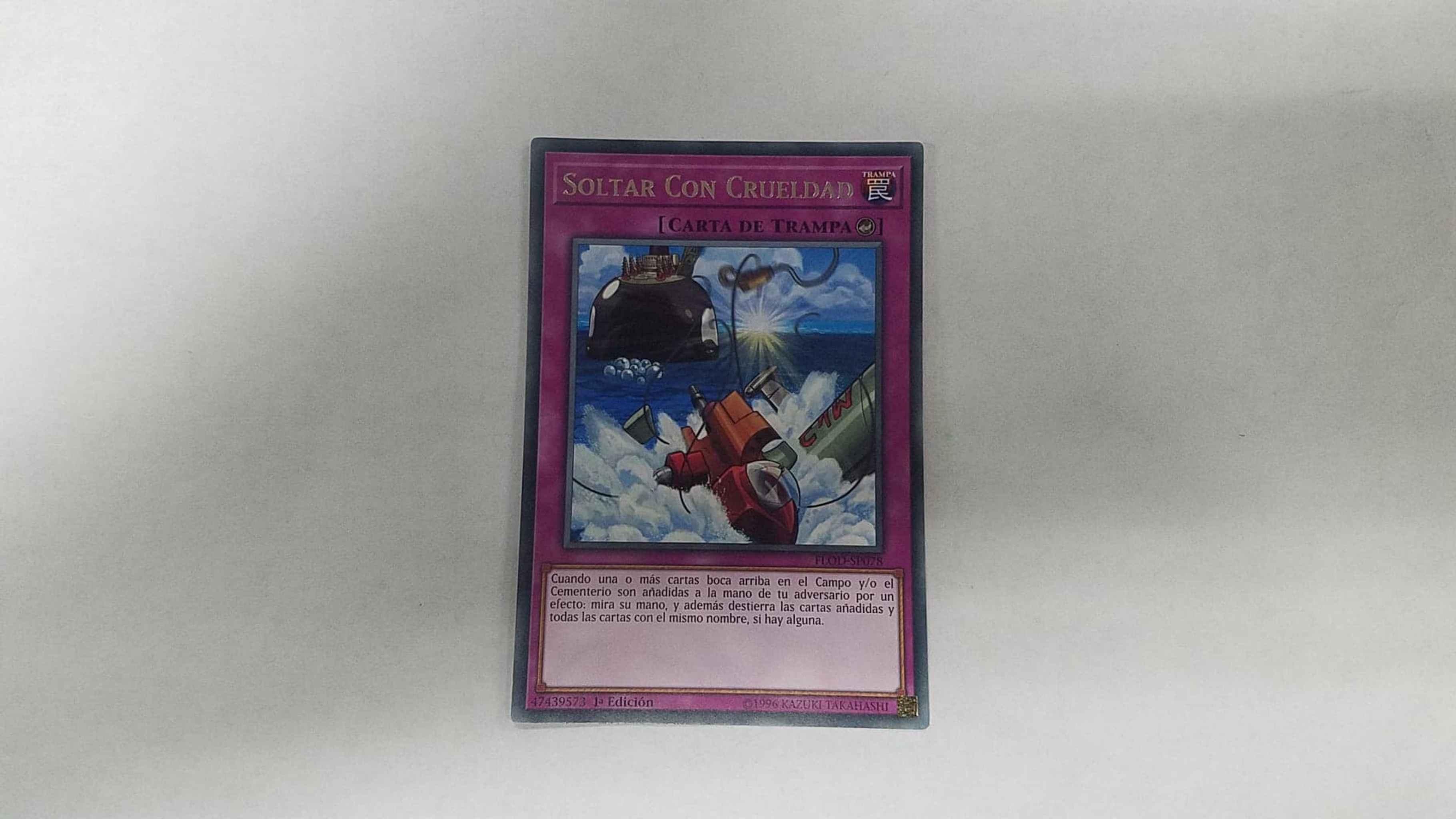 HEARTLESS DROP OFF FLOD-EN078 Yu-Gi-Oh Rare Card