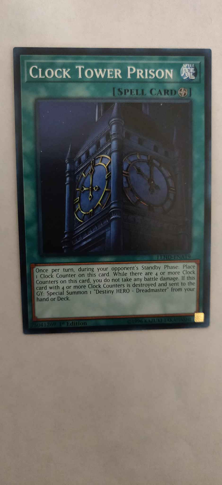 Clock Tower Prison Clock Tower Prison Legendary Hero Decks Yugioh Online Gaming Store For Cards Miniatures Singles Packs Booster Boxes