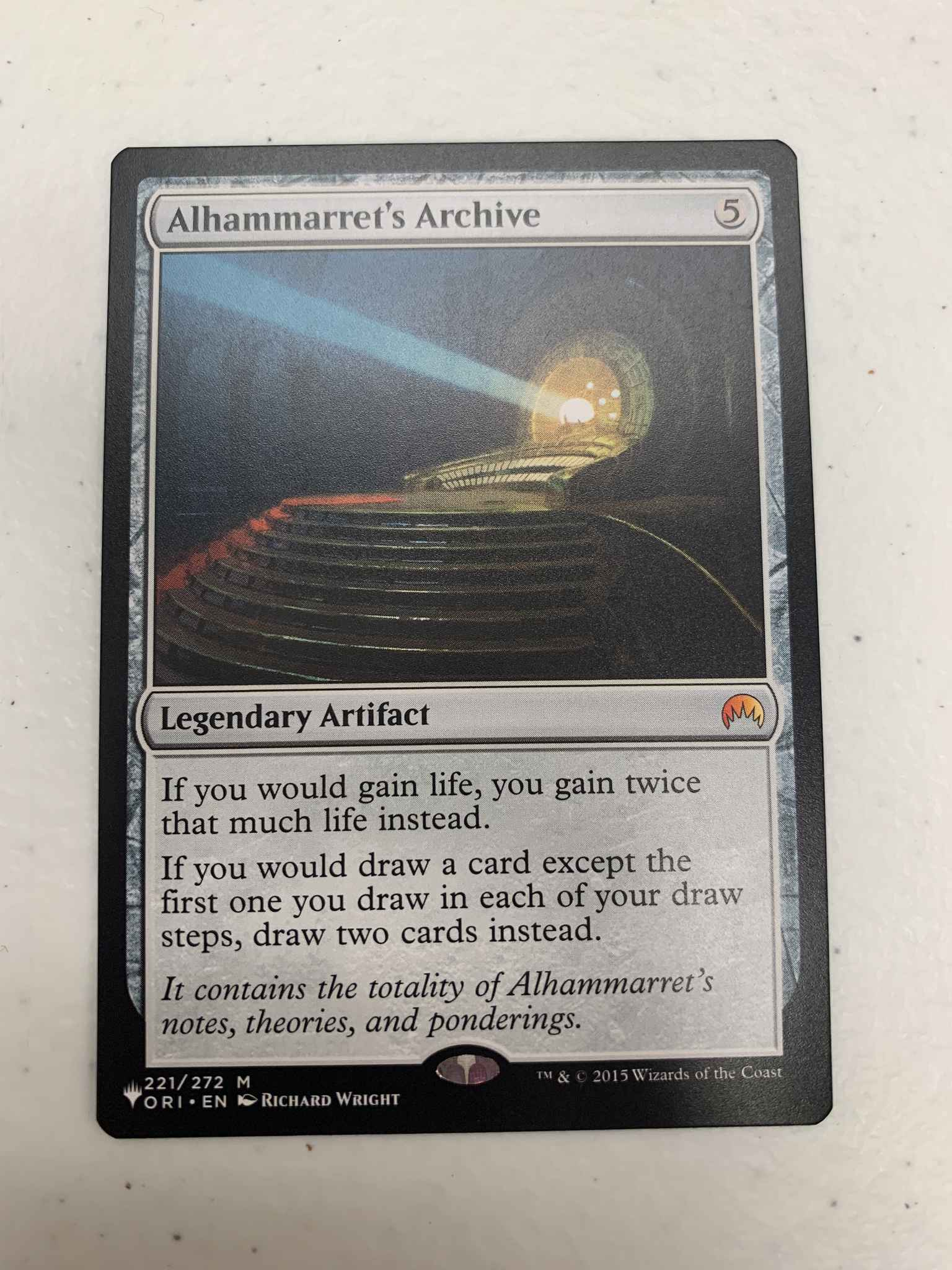 Alhammarret/'s Archive Mystery Booster