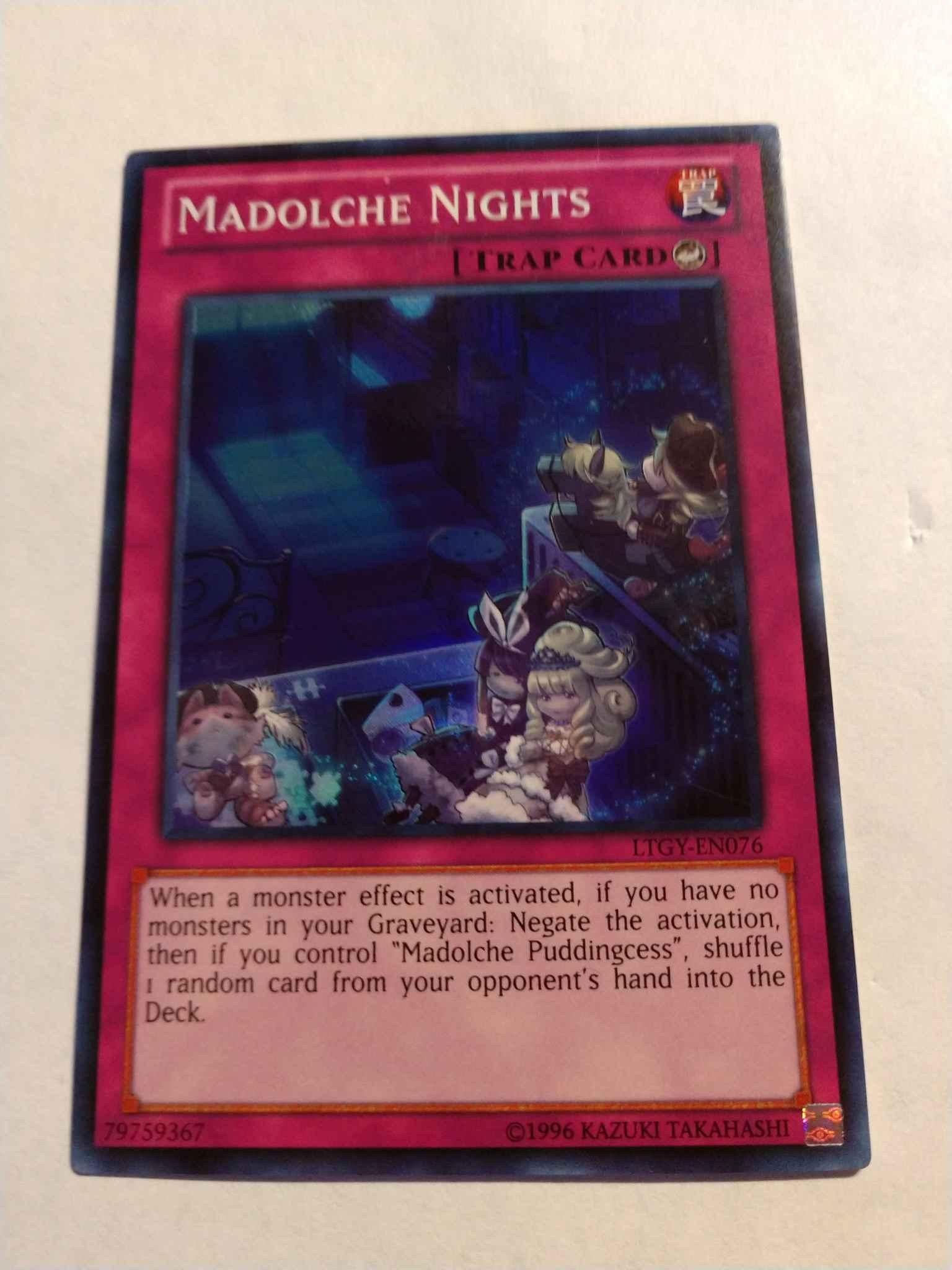Madolche Nights Engli LTGY-EN076 Super Rare Unlimited Edition Near Mint