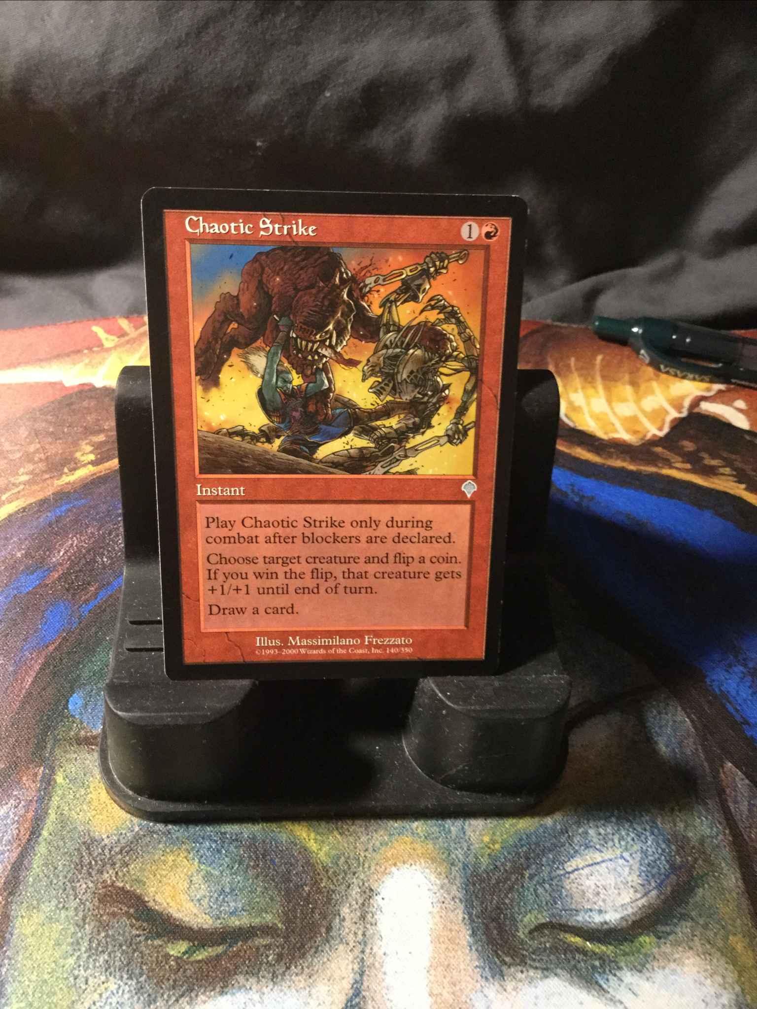 Invasion Chaotic Strike LP Magic:The Gathering MTG