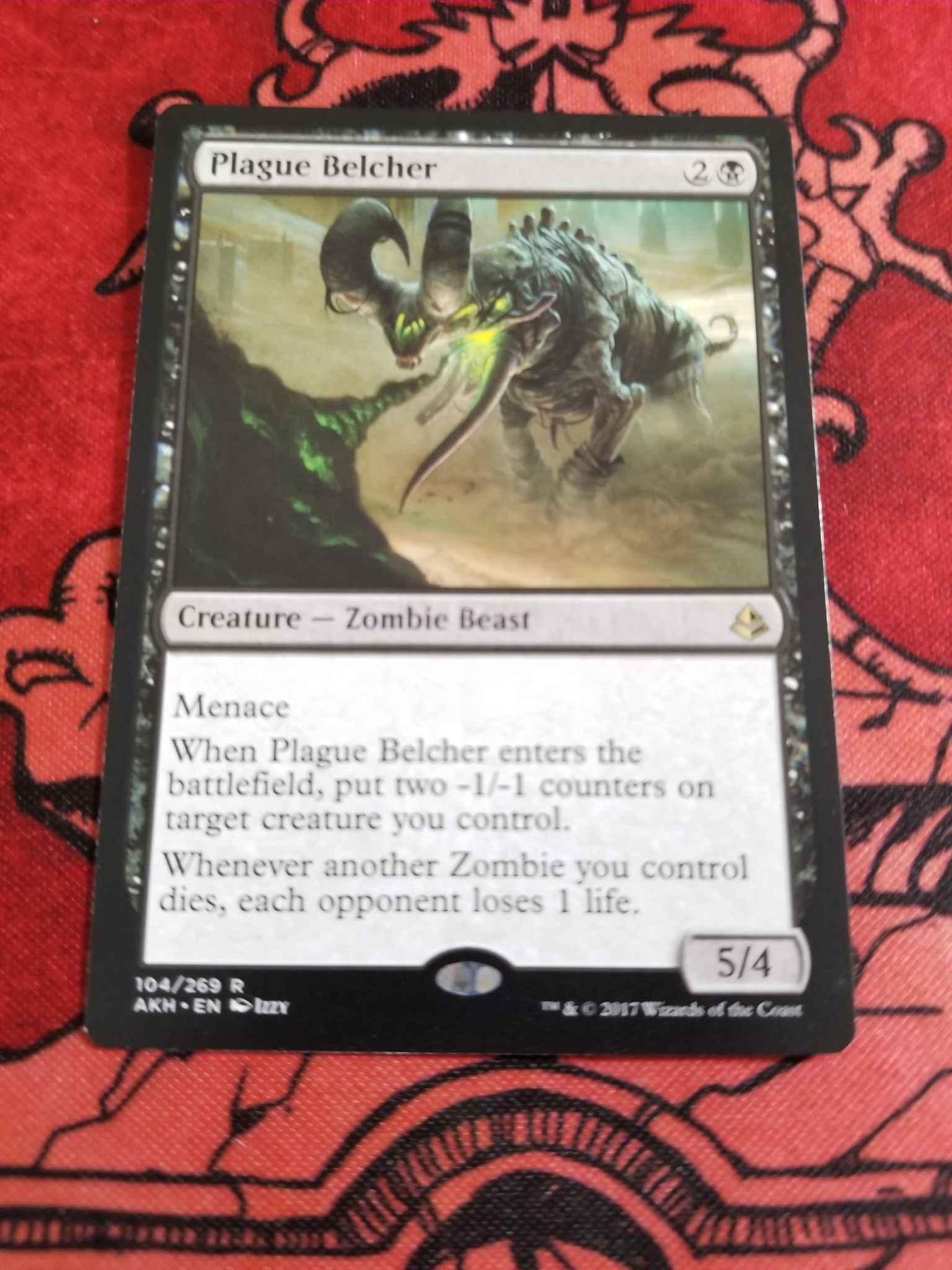 Magic: the Gathering Plague Belcher 104//269 - Amonkhet