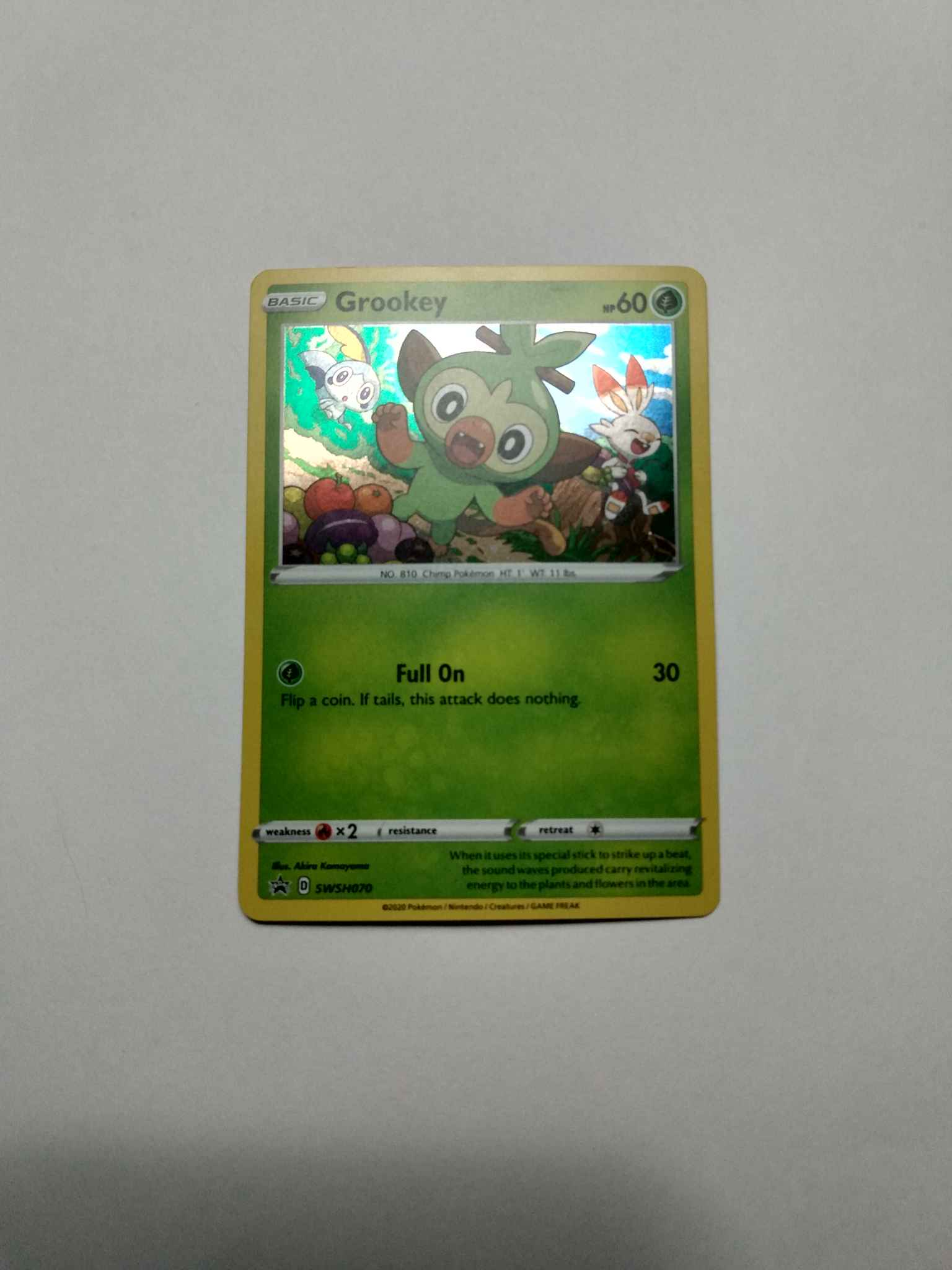 Grookey Swsh070 Grookey Swsh070 Swsh Sword Shield Promo Cards Pokemon Online Gaming Store For Cards Miniatures Singles Packs Booster Boxes Da pokémon central wiki, l'enciclopedia pokémon in italiano. grookey swsh070