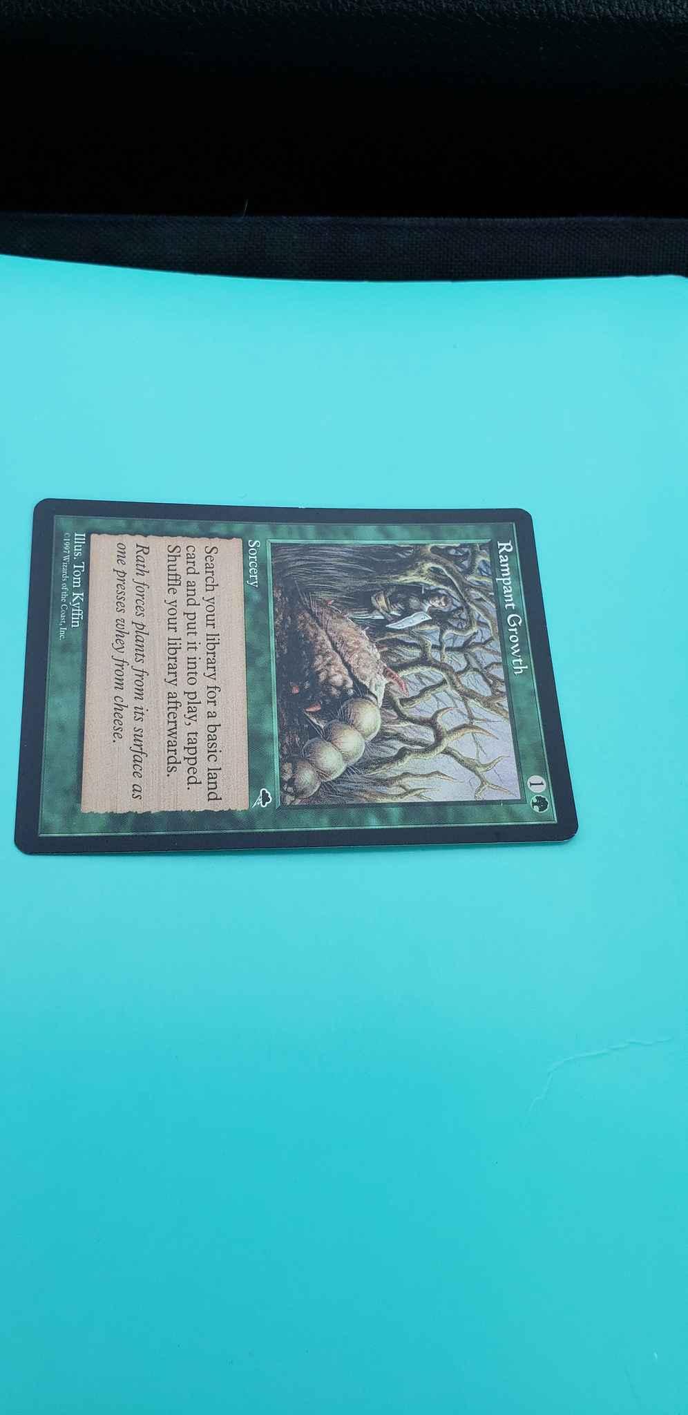 Tempest MTG Magic Card Rampant Growth