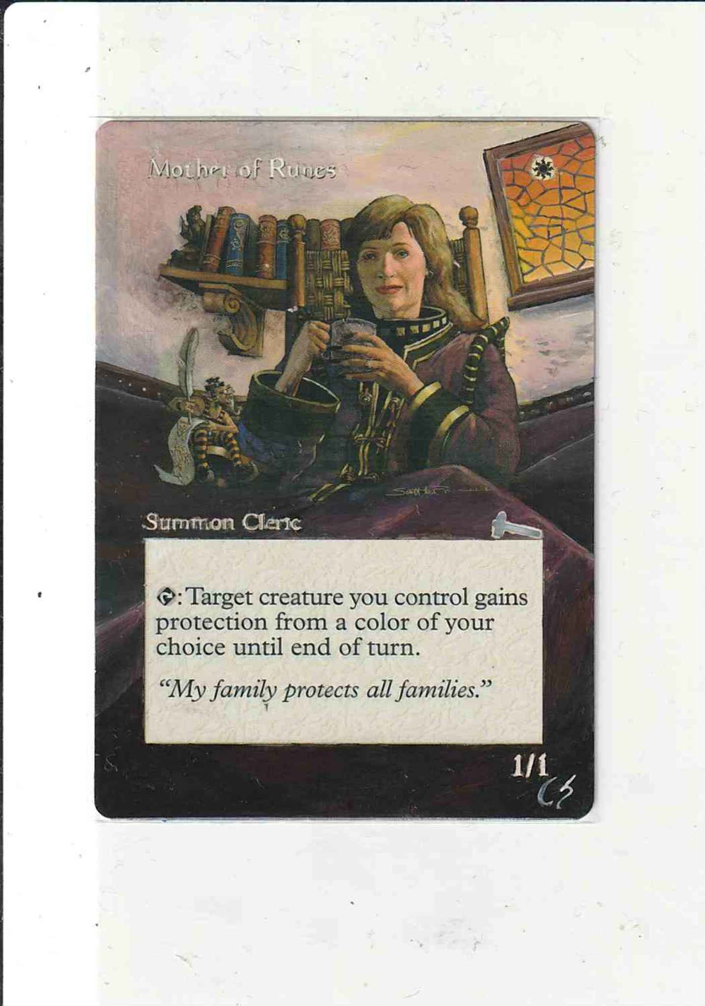 Mother of Runes Urza/'s Legacy