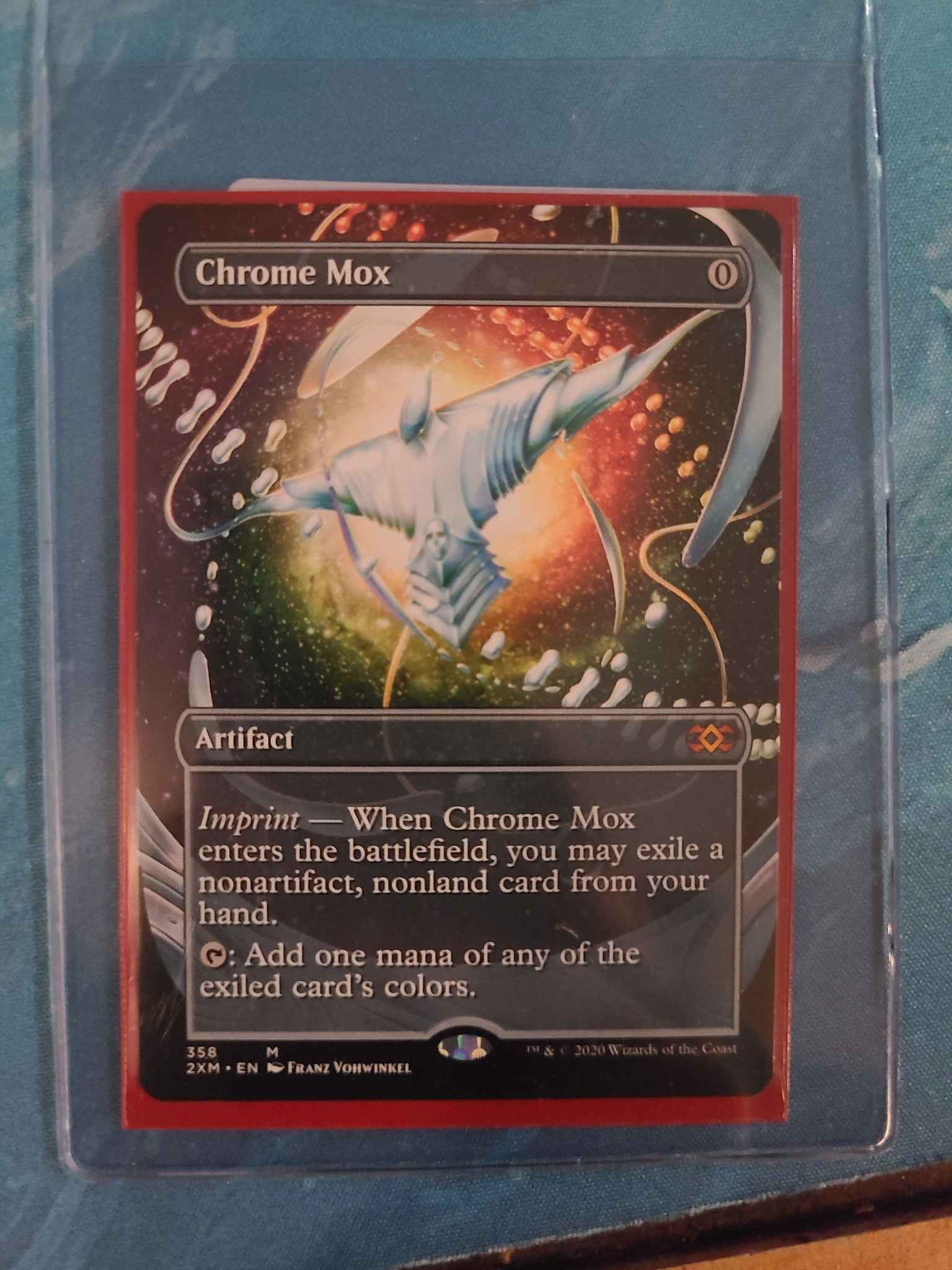 CHROME MOX Double Masters Magic MTG MINT CARD BORDERLESS