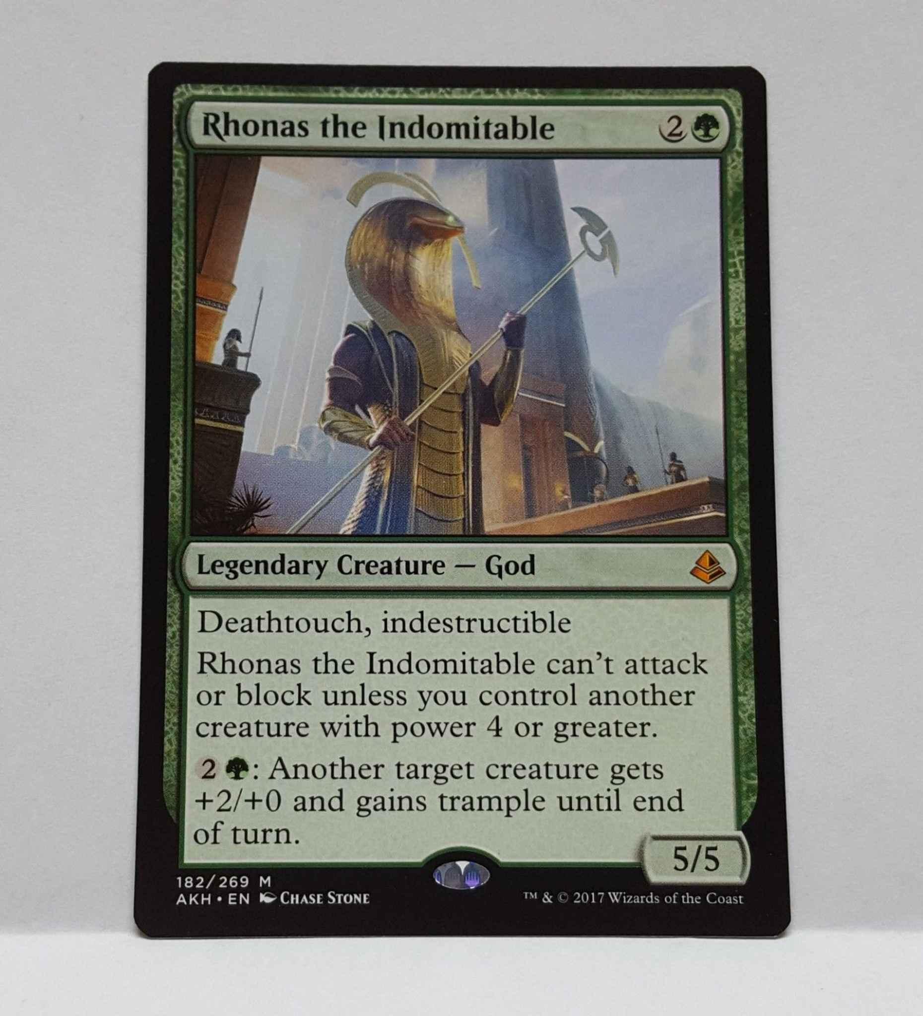 RHONAS THE INDOMITABLE Amonkhet AKH Magic MTG MINT CARD