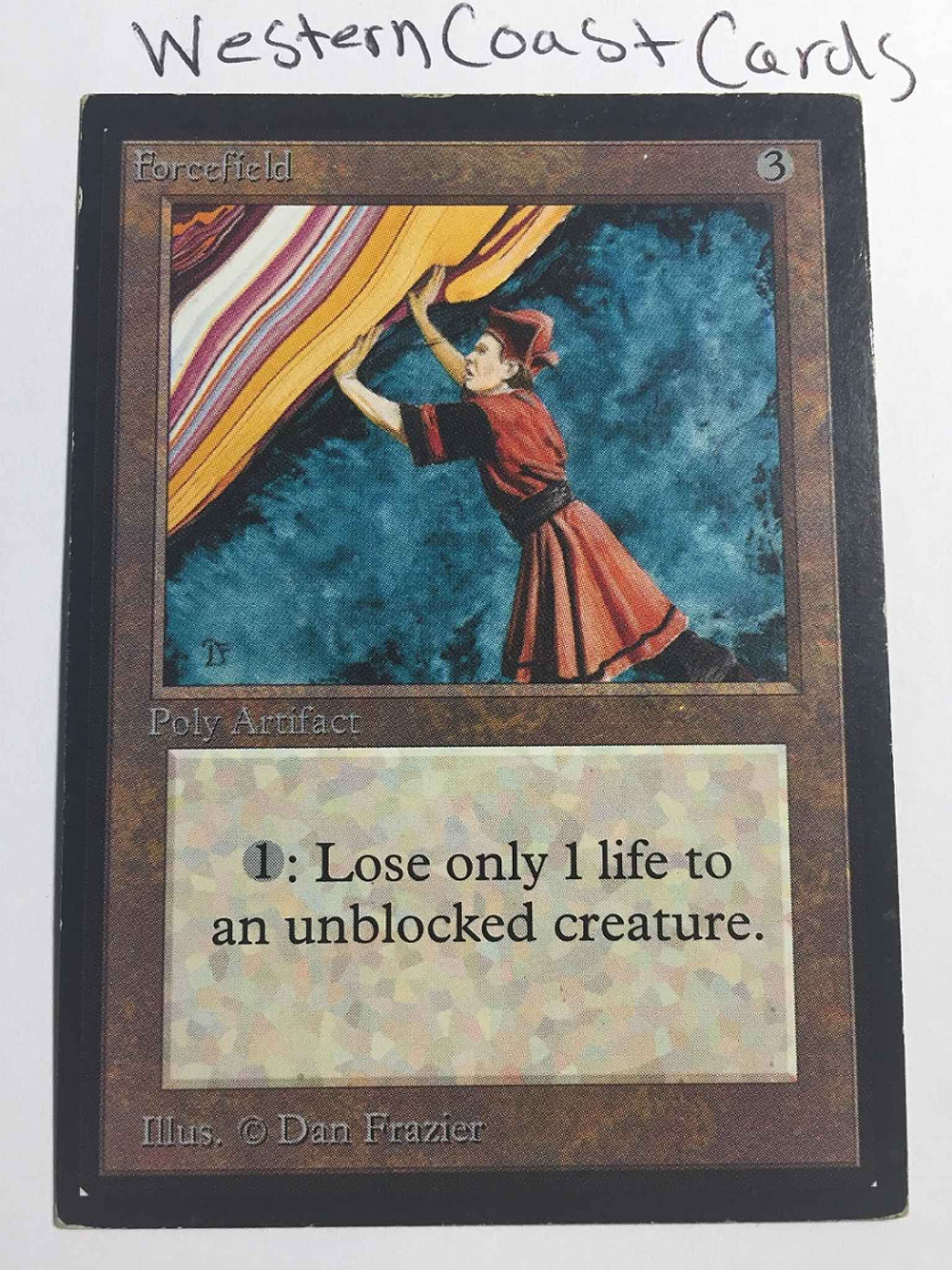 Mp Ce Forcefield Forcefield Ce Collector S Edition Magic The Gathering Online Gaming Store For Cards Miniatures Singles Packs Booster Boxes