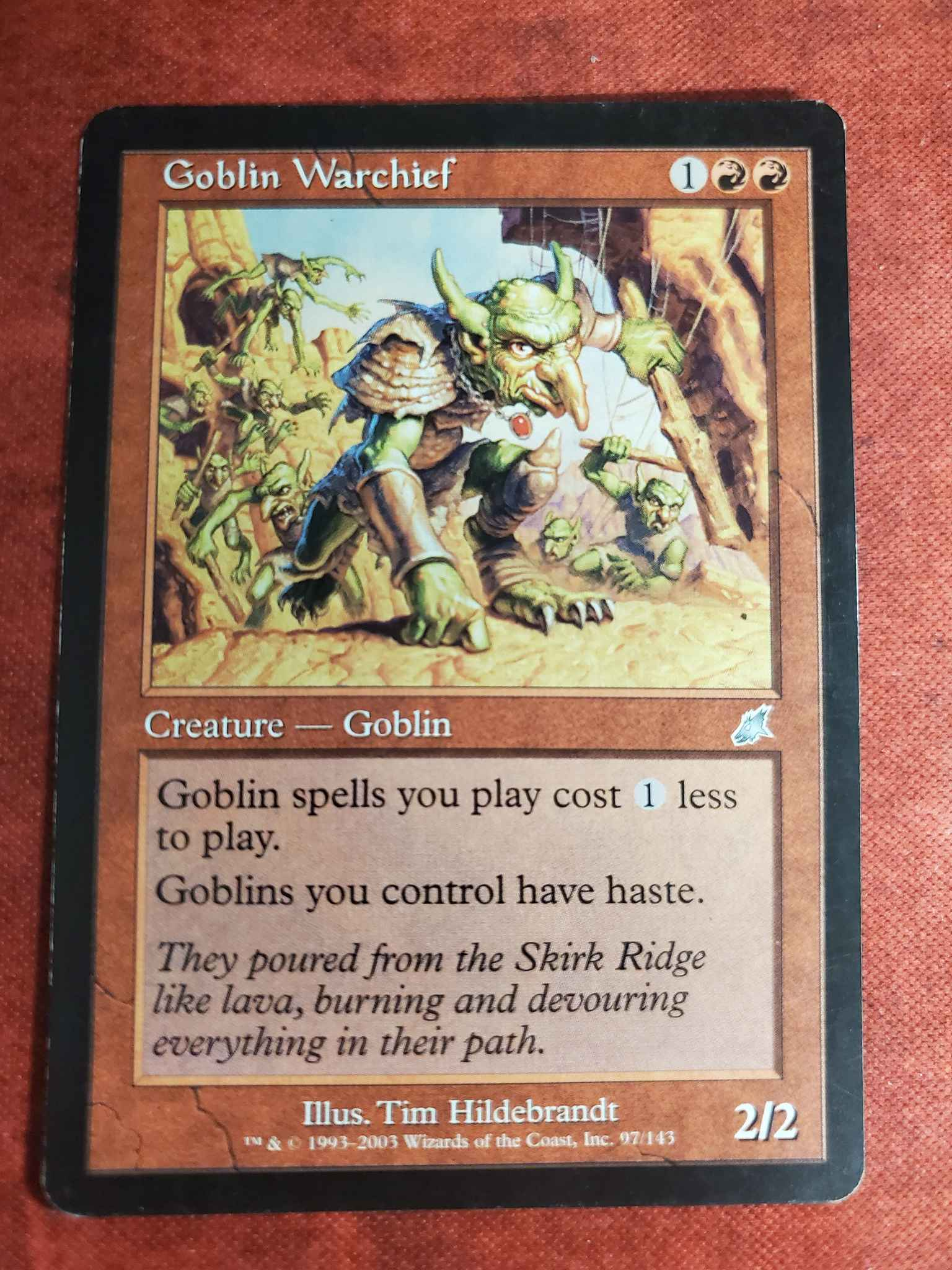 Goblin Warchief Goblin Warchief Scourge Magic The Gathering Online Gaming Store For Cards Miniatures Singles Packs Booster Boxes