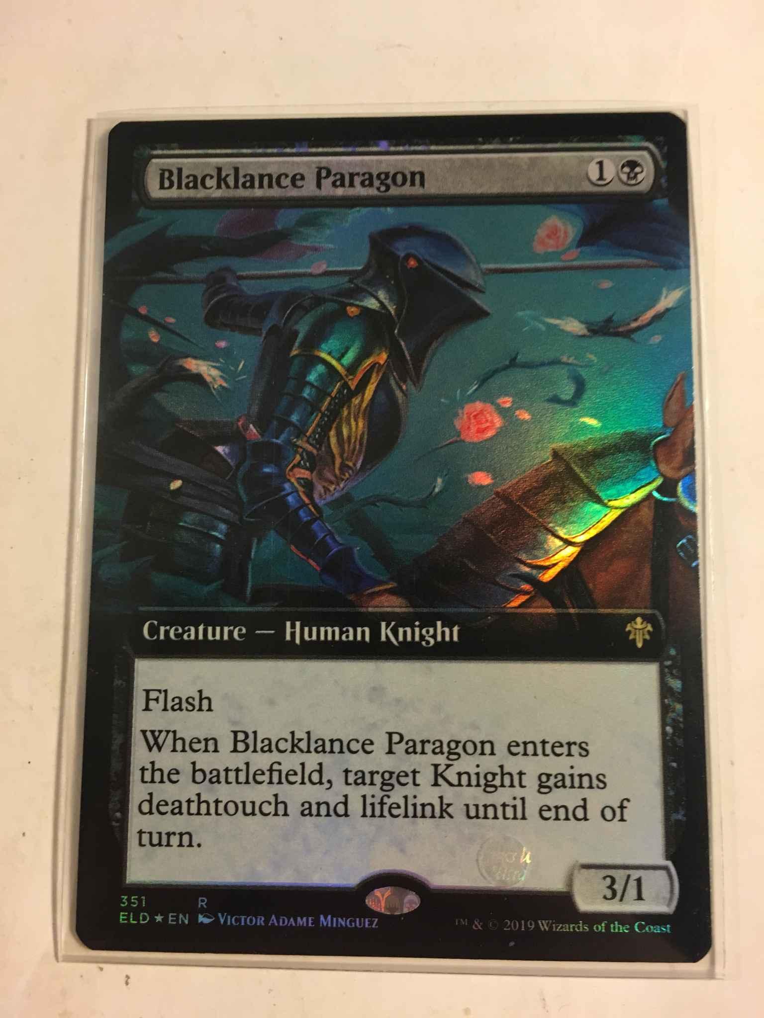 Mtg Blacklance Paragon