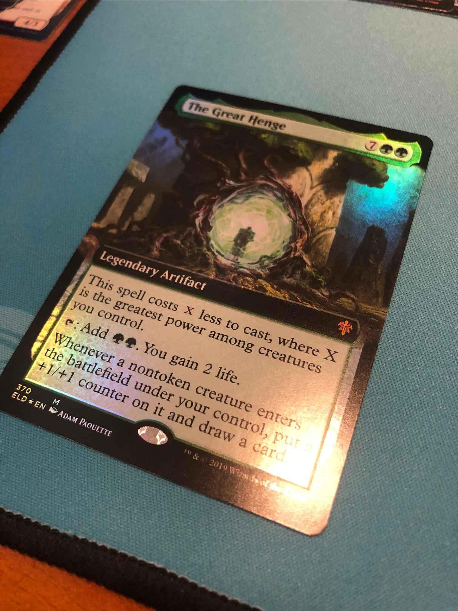 FOIL ANIMATING FAERIE X4 Throne Of Eldraine ELD Magic MTG MINT CARD