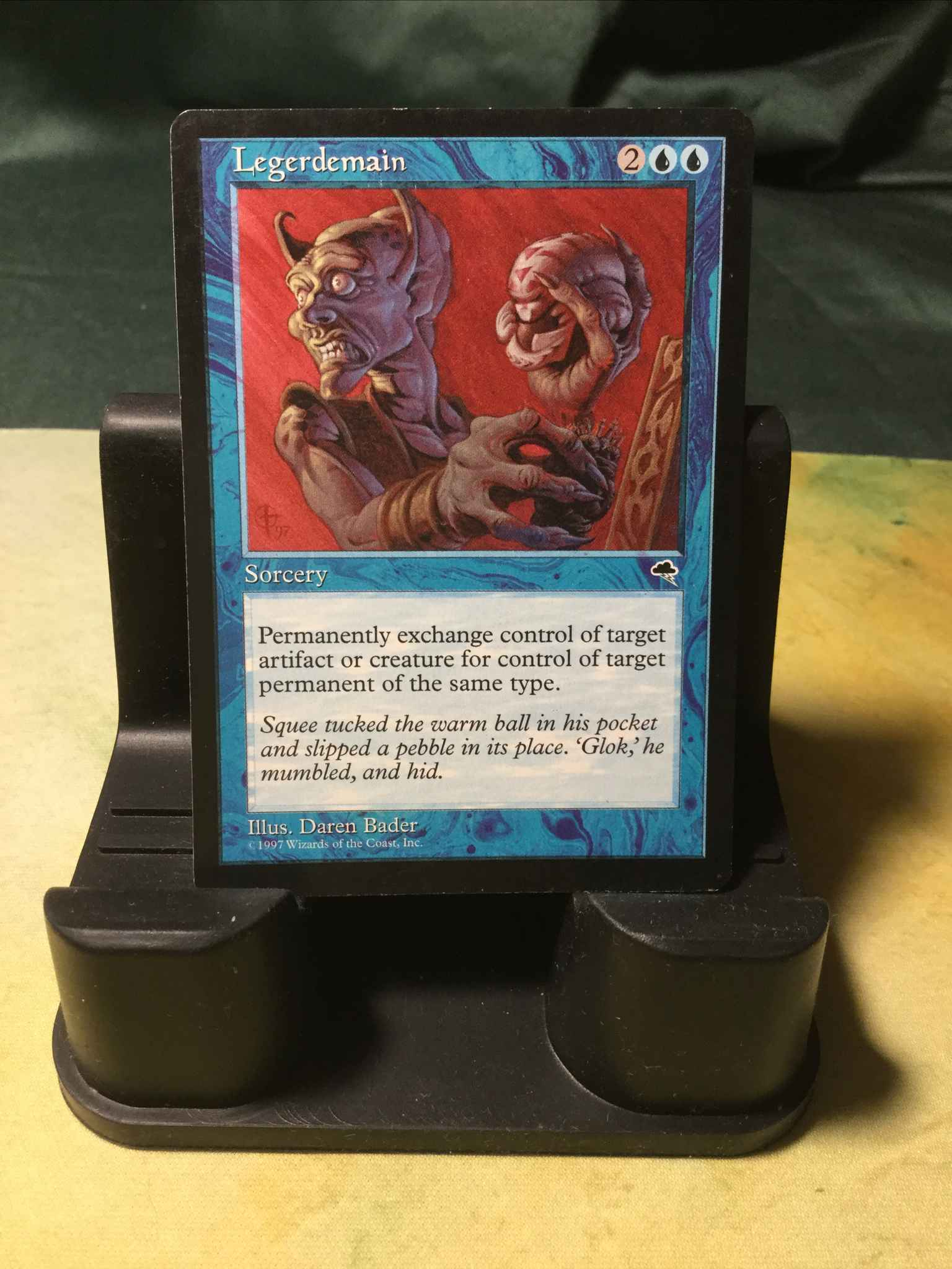 MTG Legerdemain Magic Card Tempest