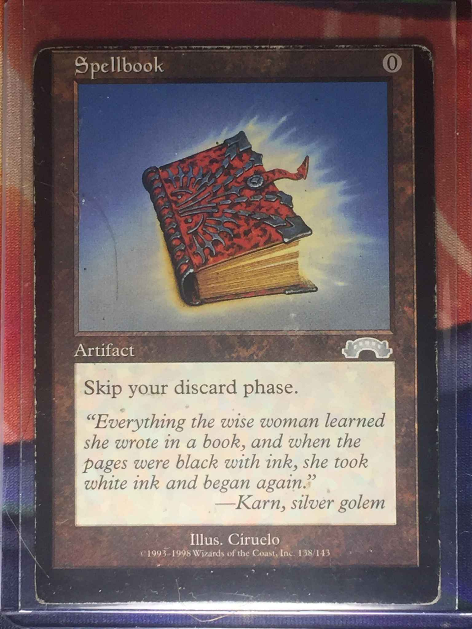 Spellbook Magic Exodus by Magic the Gathering the Gathering