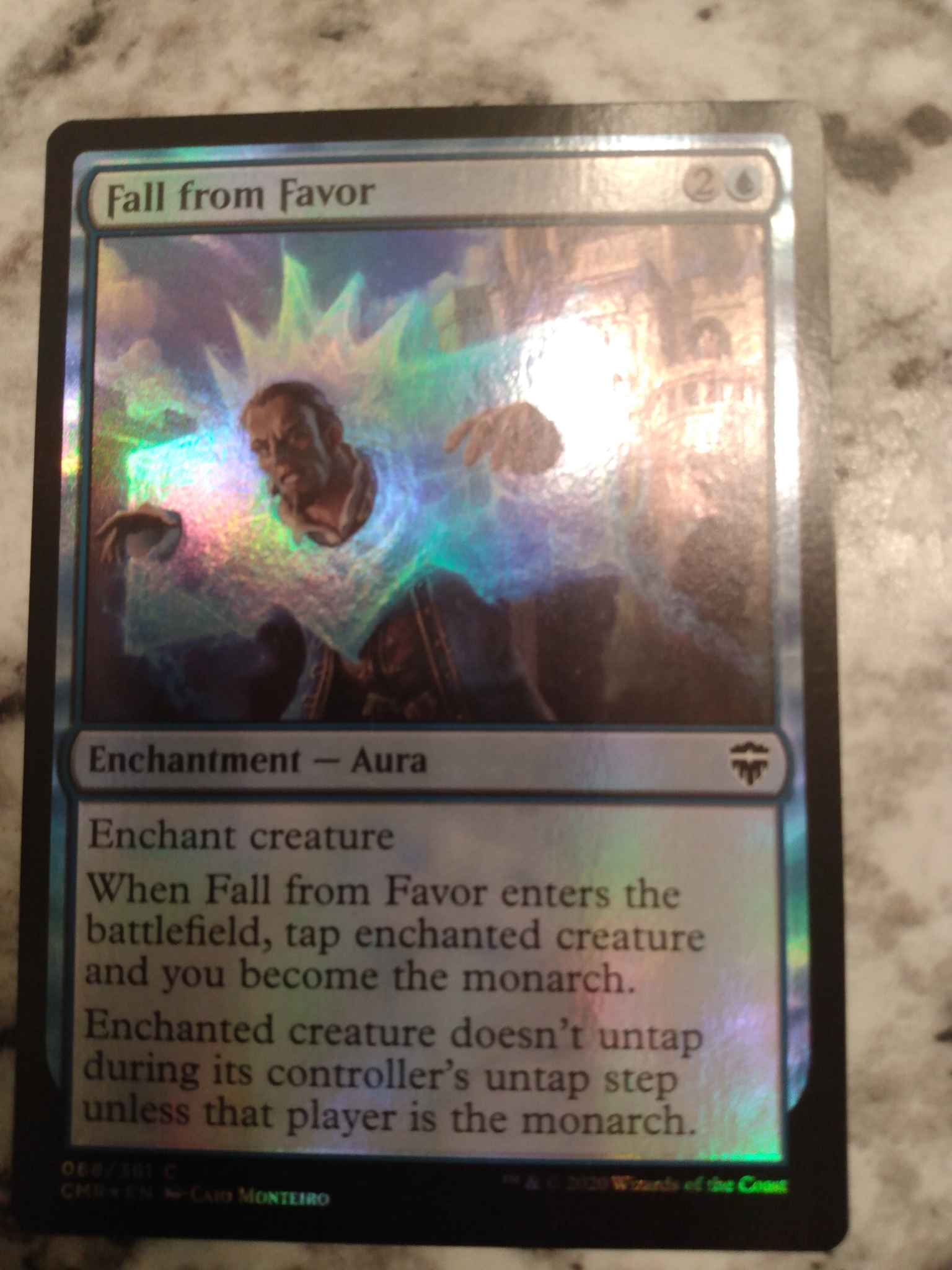 4x Fall from FavorCommander LegendsMTG Magic Cards