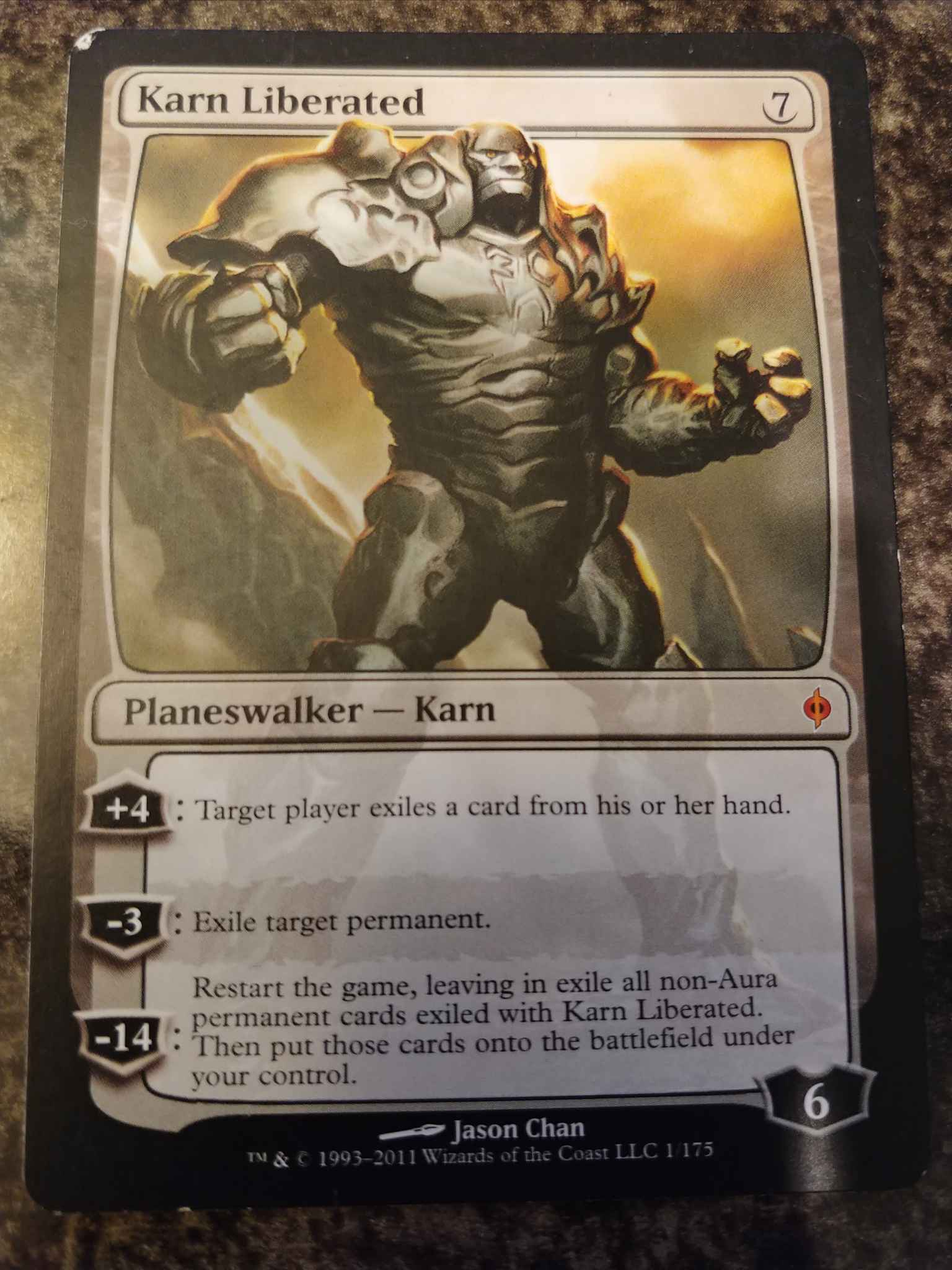 Karn Liberated New Phyrexia LP