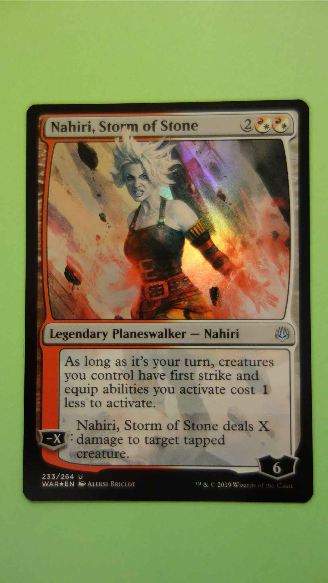 Nahiri Storm Of Stone W Photo Nahiri Storm Of Stone War Of The Spark Magic The Gathering Online Gaming Store For Cards Miniatures Singles Packs Booster Boxes