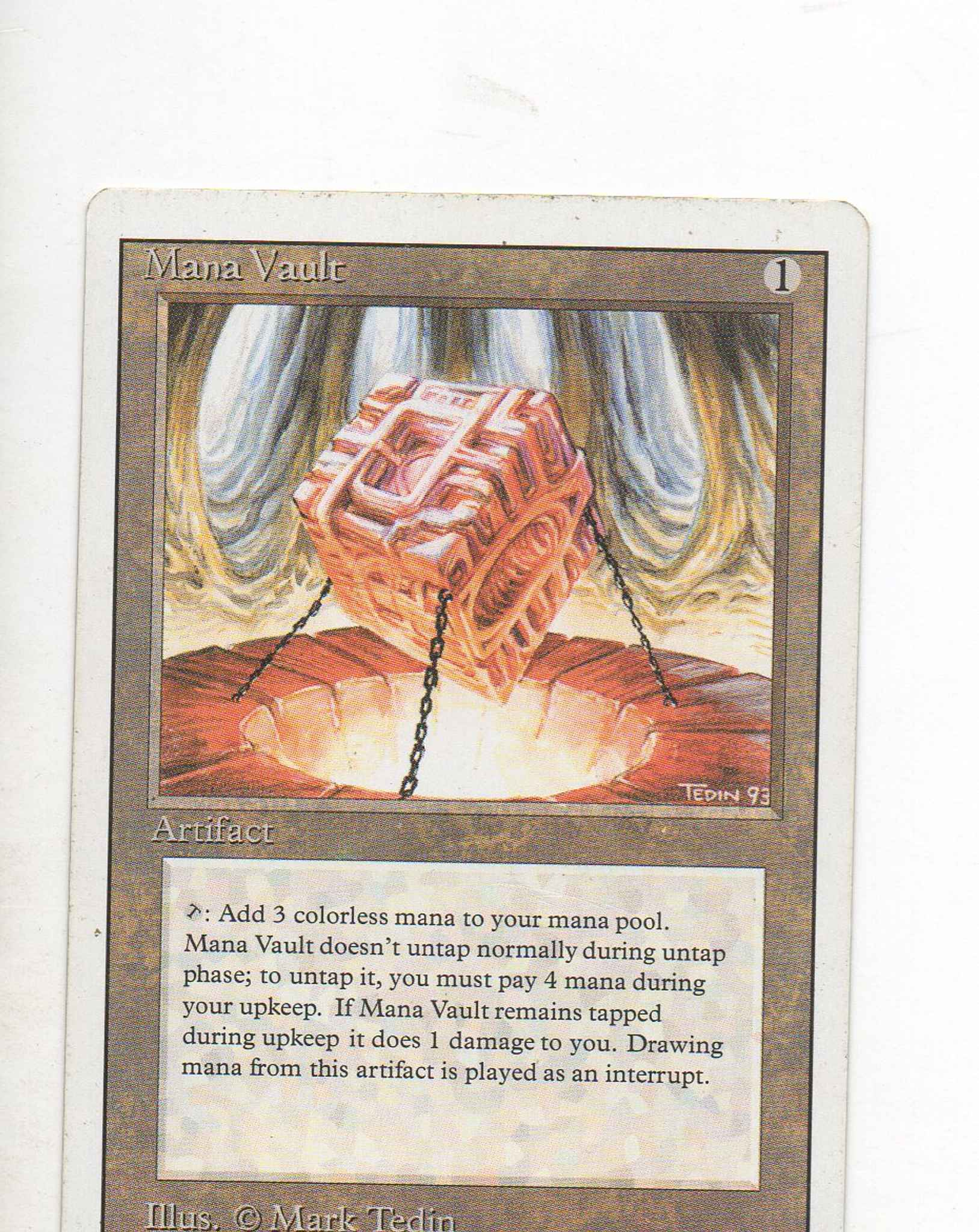 Magic the Gathering ~ 1x Armageddon ~ Revised ~ MP