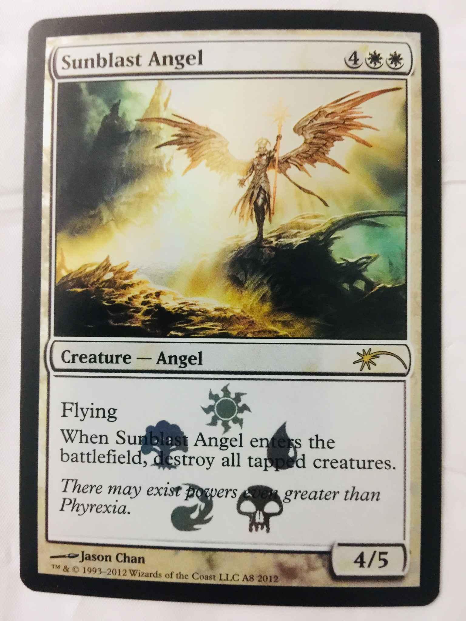 Pack Fresh M//NM MTG Magic Commander 2020 Sunblast Angel