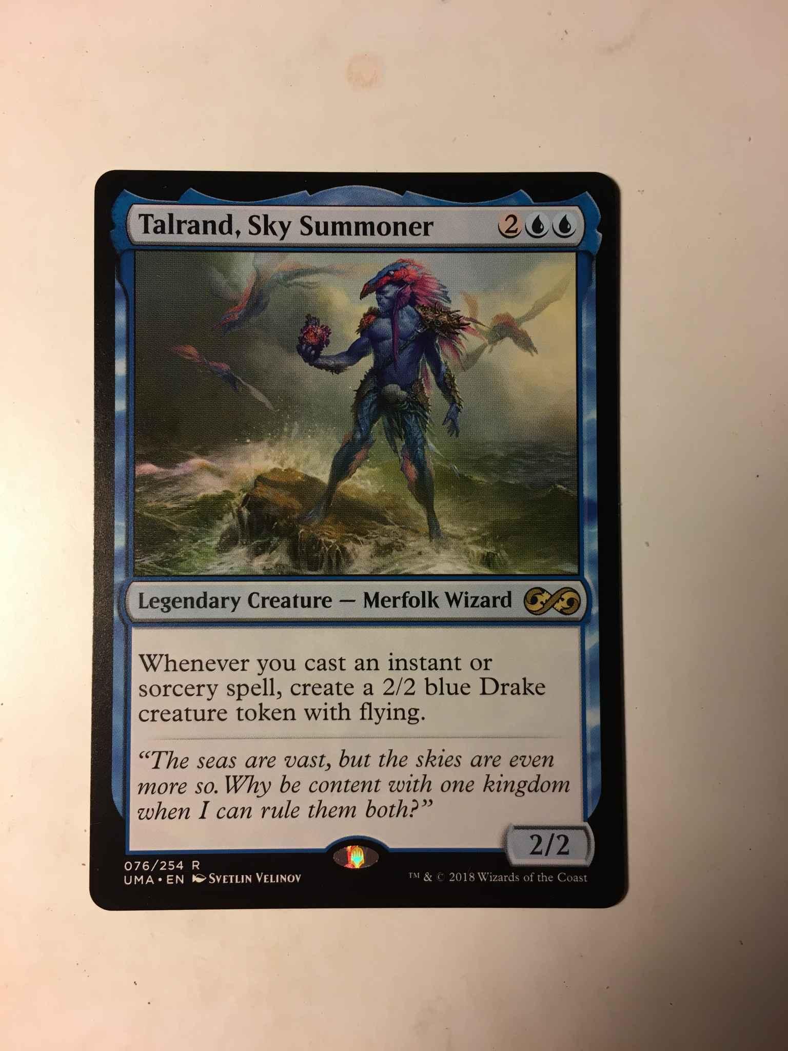 1X NM Talrand Sky Summoner Ultimate Masters MTG Magic The Gathering