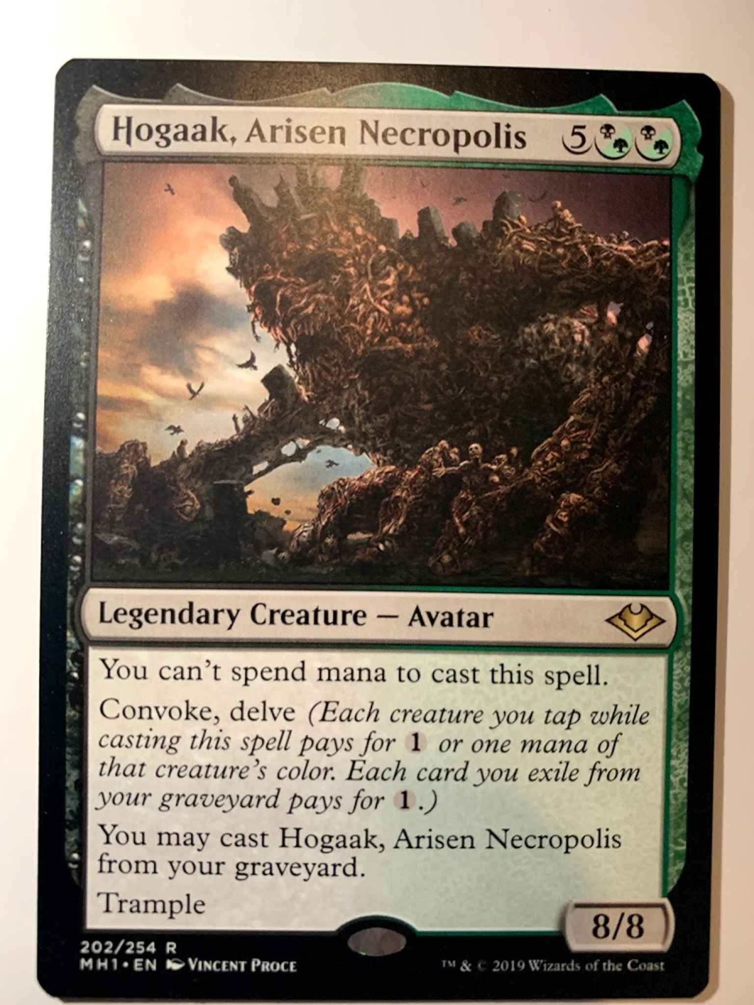 Arisen Necropolis ~ Modern Horizons ~ NearMint ~ Magic The Gathering MTG Hogaak