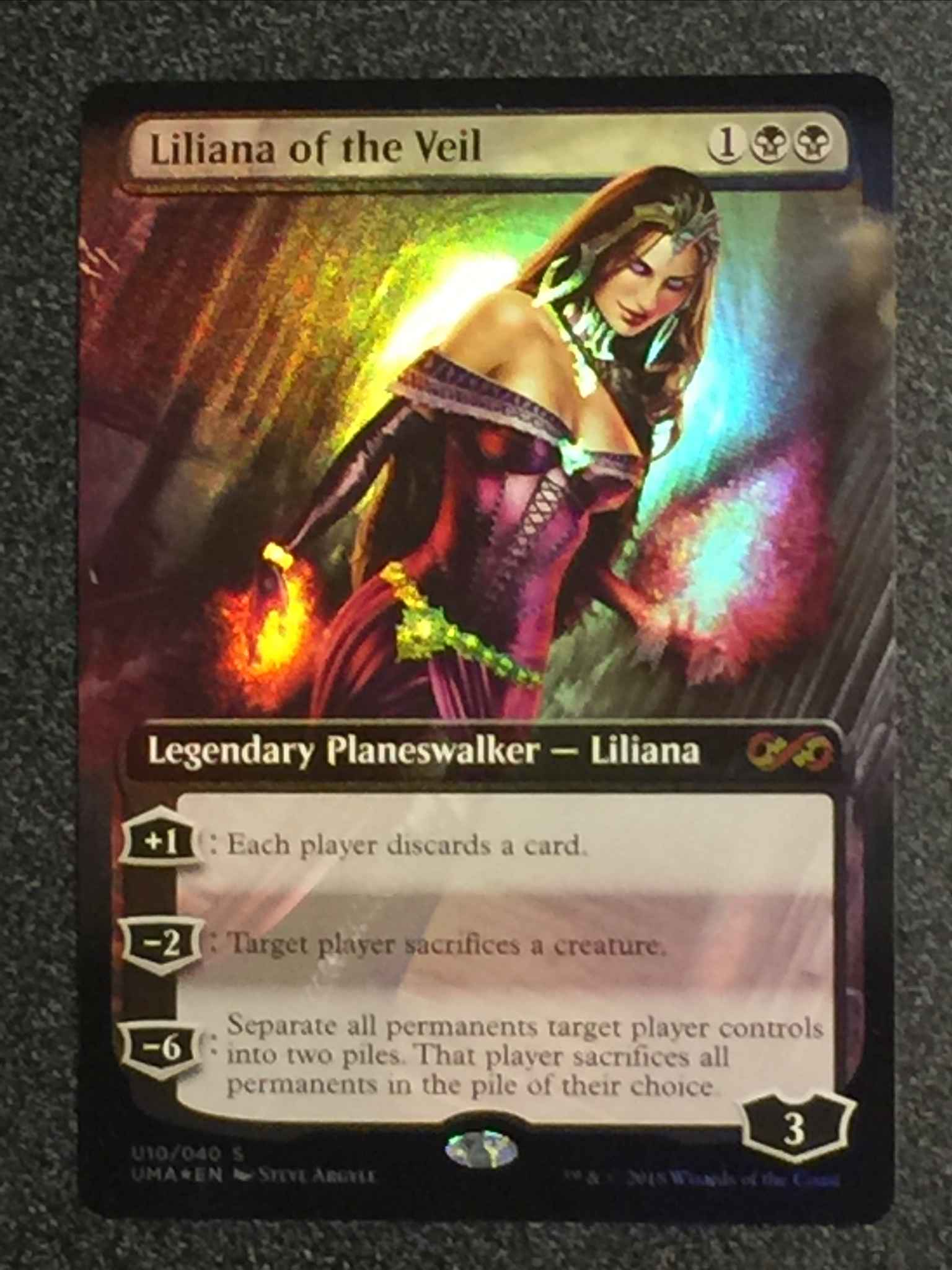 See Photographs Liliana Of The Veil Ultimate Masters Box Toppers Magic The Gathering